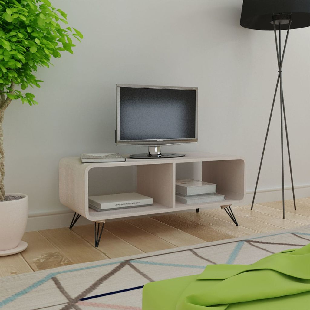 Fashionable Tv Cabinets And Coffee Table Sets Pertaining To Vidaxl Tv Cabinet 90x39x (View 18 of 20)