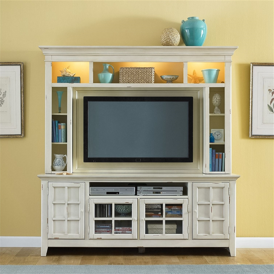 Fashionable Tv Entertainment Unit Throughout New Generation 50 Inch Tv Entertainment Center In Vintage White (Gallery 14 of 20)