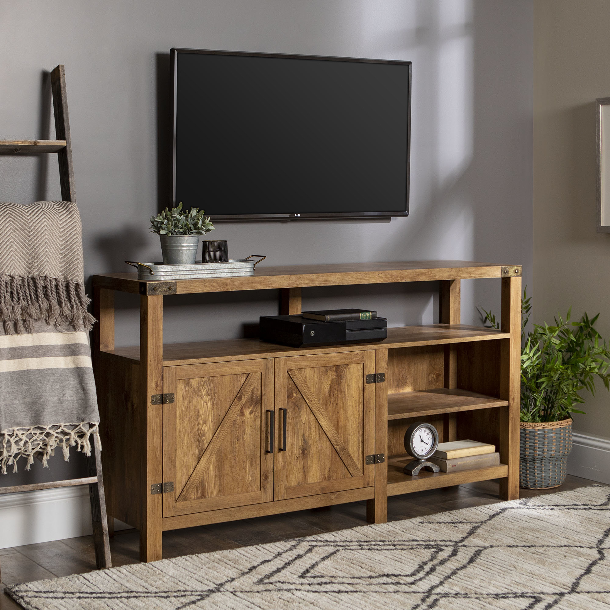 Fashionable Tv Stands & Entertainment Centers You'll Love Intended For Tv Stands With Back Panel (Gallery 3 of 20)
