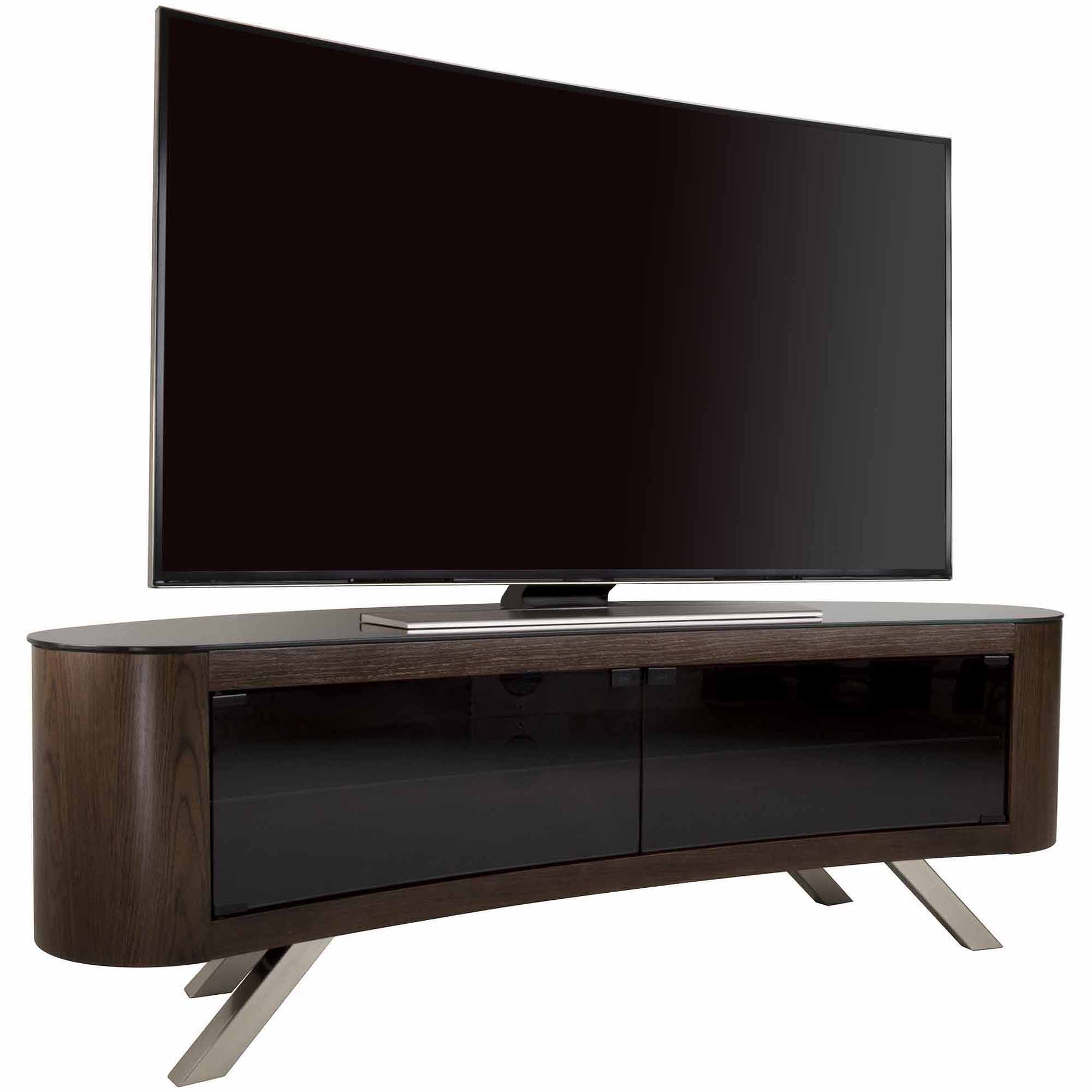 """Fashionable Tv Stands For 70 Inch Tvs Regarding Avf Bay Curved Tv Stand For Tvs Up To 70"""" – Walmart (View 5 of 20)"""