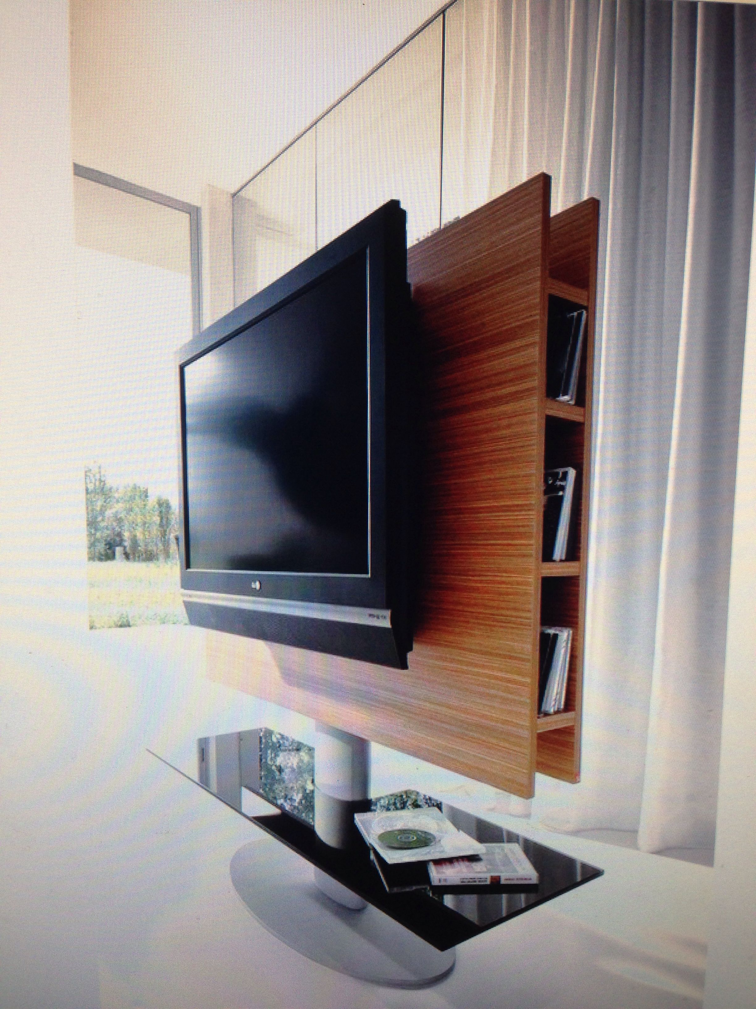 Fashionable Tv Stands Swivel Mount With Furniture: Modern Swivel Tv Stand For Your Living Room (Gallery 20 of 20)