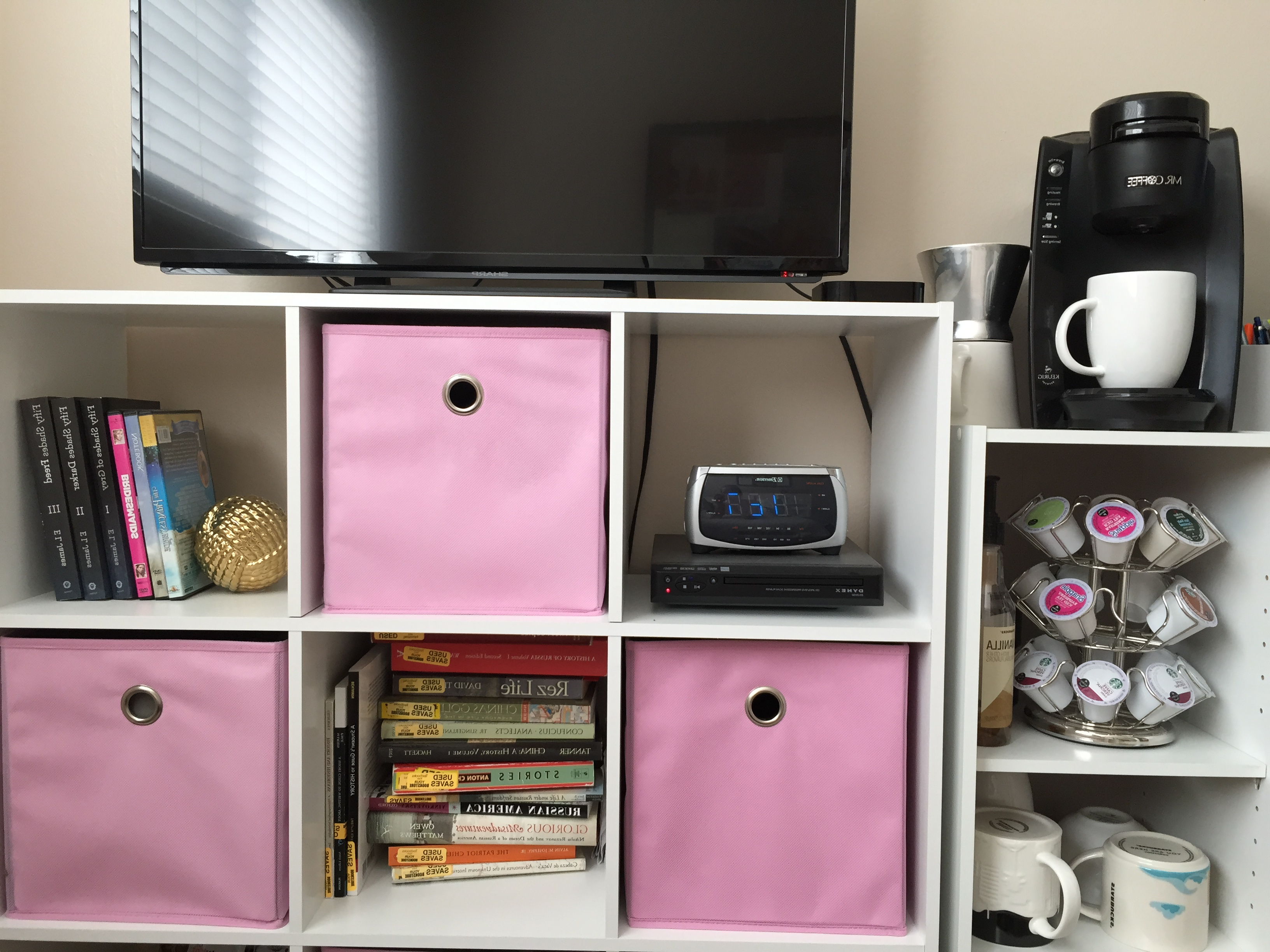 Fashionable Tv Stands With Baskets Within Tv Stands. 10 Awesome Design Flat Screen Tall Tv Stand For Bedroom (Gallery 11 of 20)