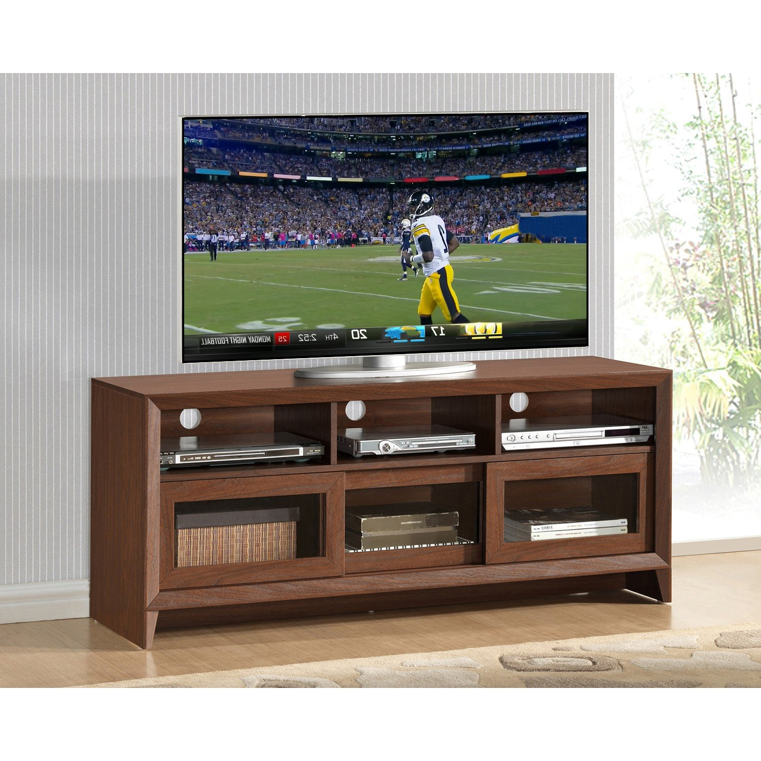Fashionable Urban Designs Modern Tv Stand With Storage For Tvs Up To 60 Inches In Modern Tv Stands For 60 Inch Tvs (View 3 of 20)