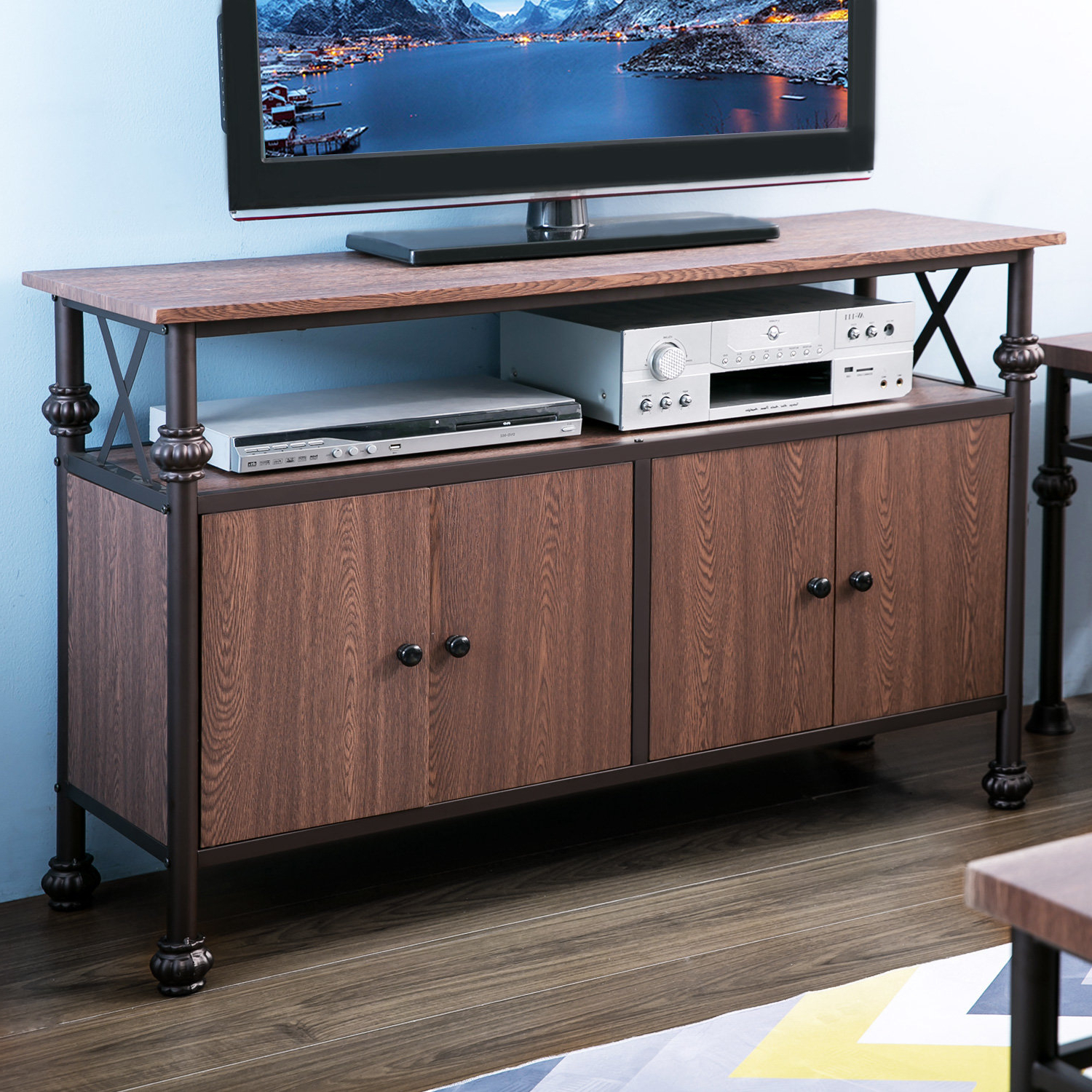 """Fashionable Vista 60 Inch Tv Stands With Regard To Winston Porter Endicott Tv Stand For Tvs Up To 48"""" & Reviews (View 10 of 20)"""