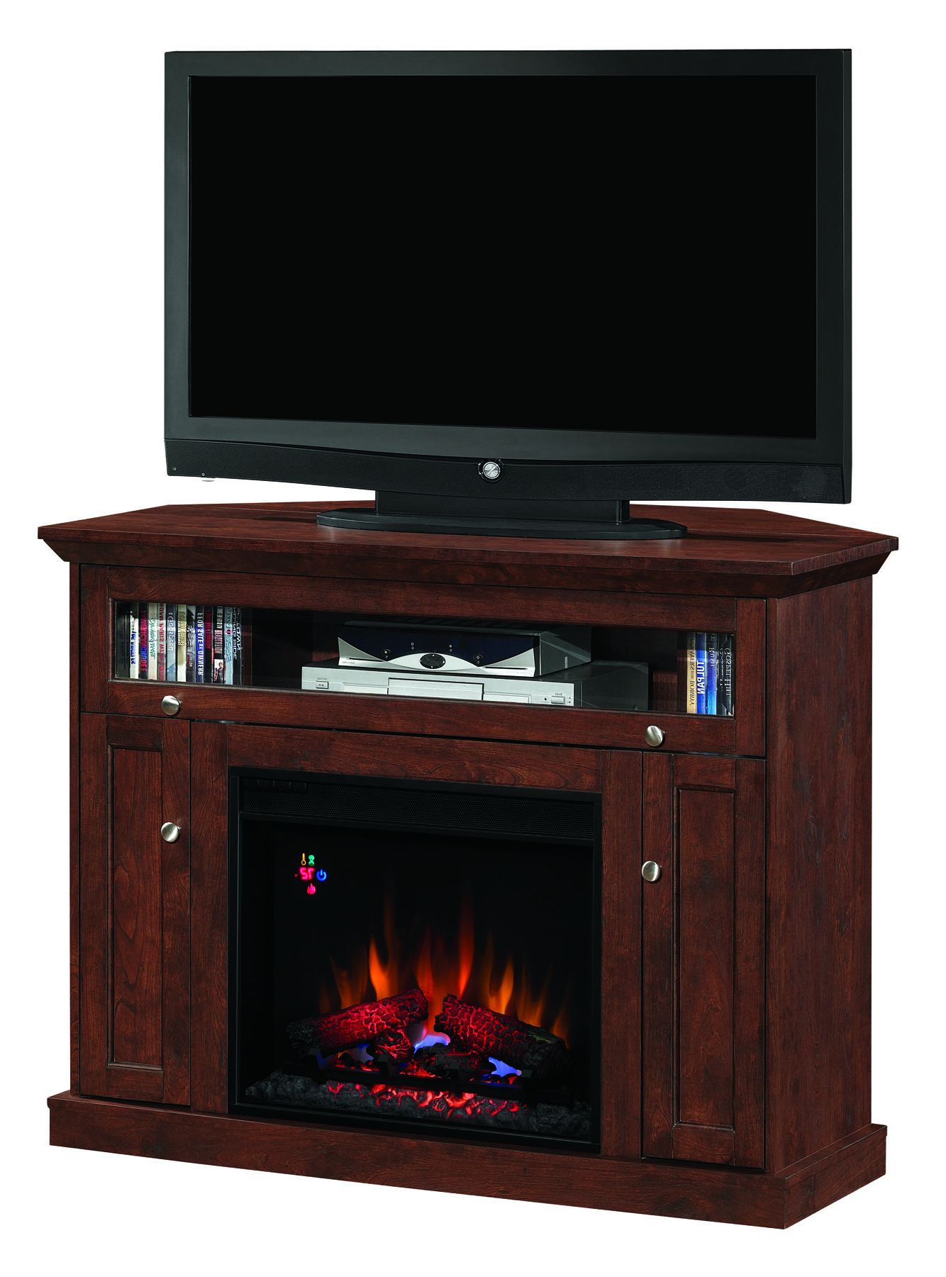Favorite Big Lots Tv Stands Intended For Lowes Fireplace Big Lots White Walmart Tv Stands Electric Review And (View 6 of 20)
