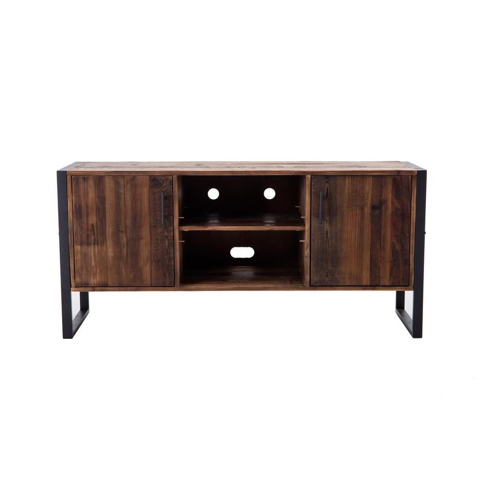 Favorite Casey Grey 66 Inch Tv Stands With Crawford & Burke – Living Room Furniture – Furniture – The Home Depot (View 8 of 20)