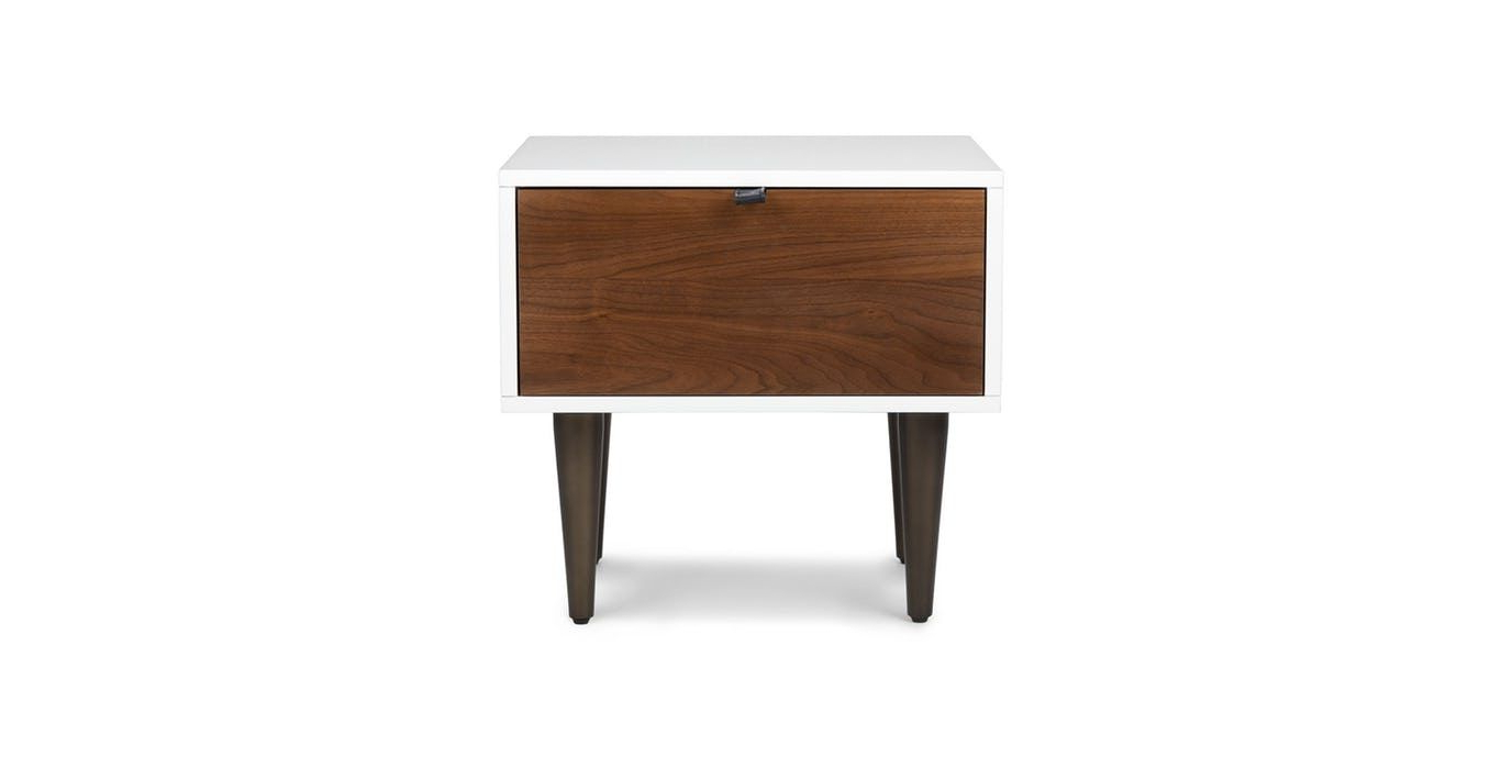 Favorite Envelo 1 Drawer Nightstand In  (View 5 of 18)