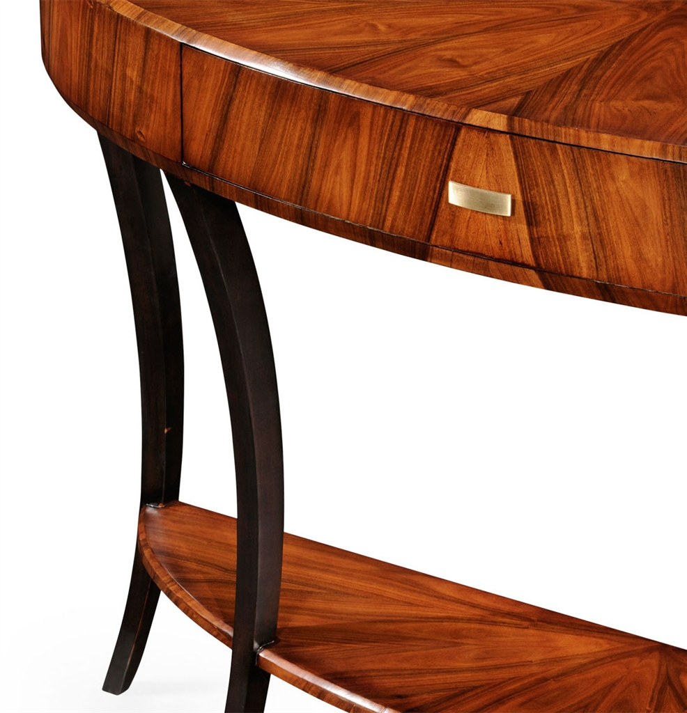 Favorite Furniture: Art Deco Demilune Console Table 17 In Clairemont Demilune Console Tables (View 14 of 20)