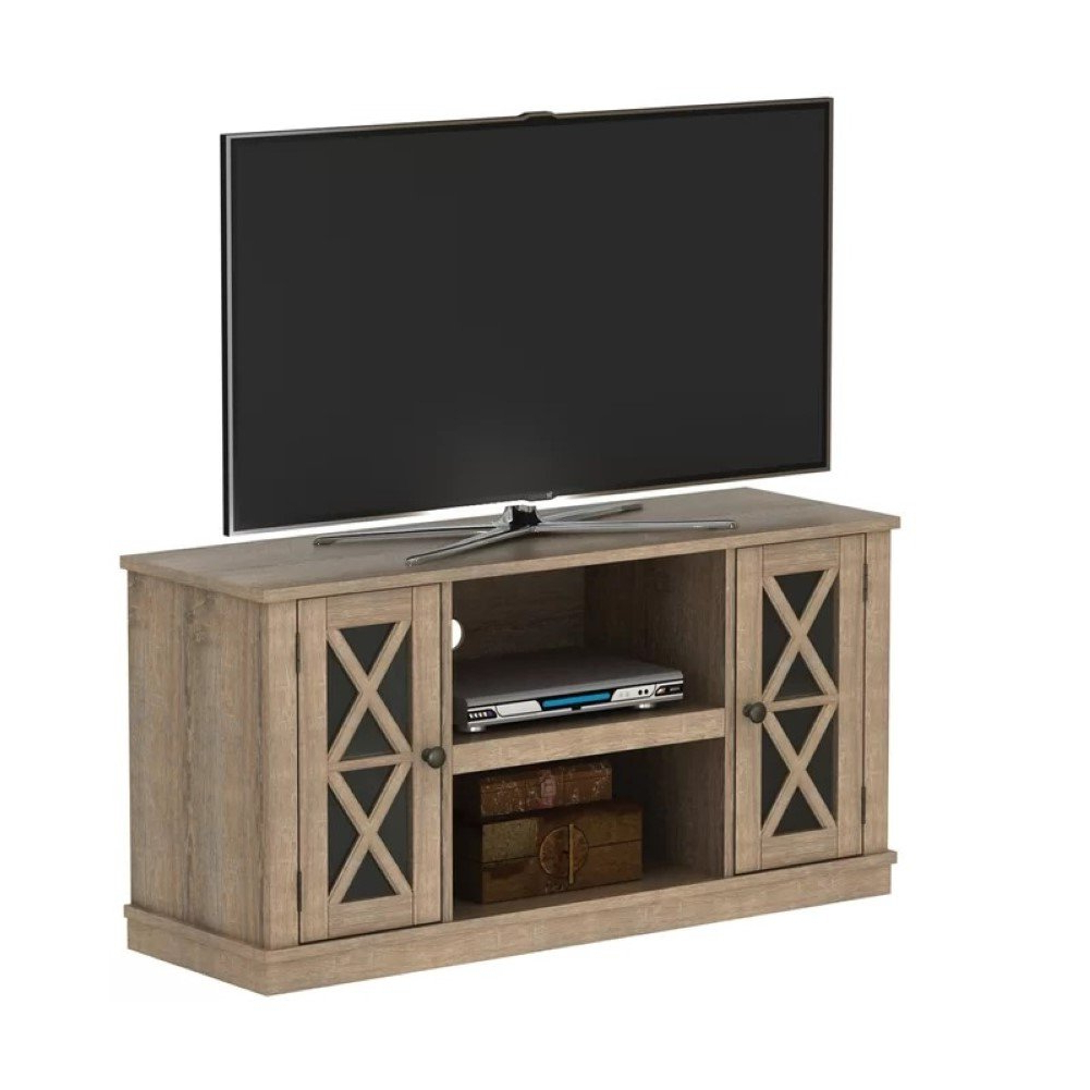 Favorite Kilian Grey 60 Inch Tv Stands Inside Amazon: Emelia  (View 9 of 20)