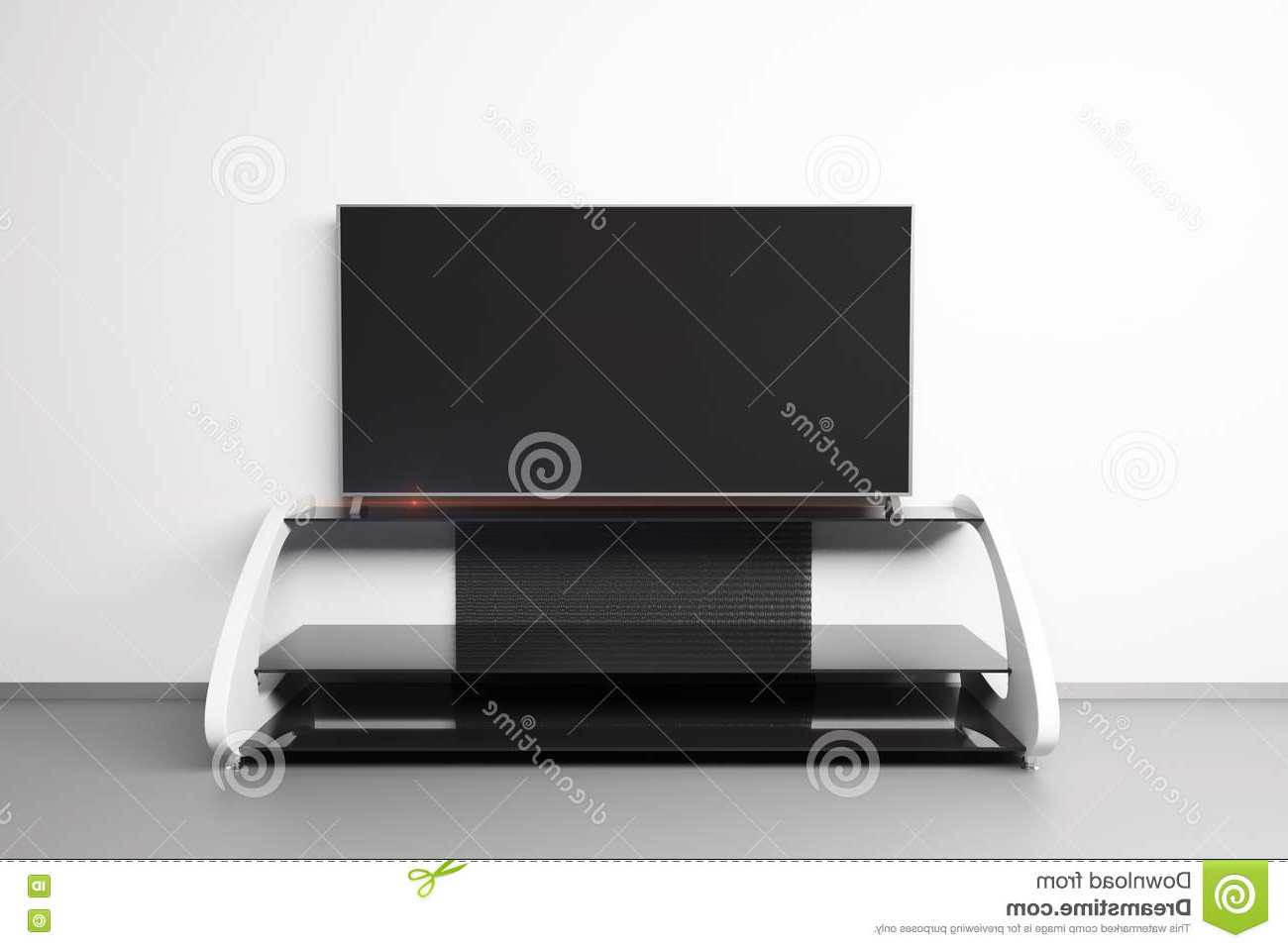 Favorite Modern Tv Stands For Flat Screens Regarding Flat Tv Screen Stock Illustration (View 4 of 20)