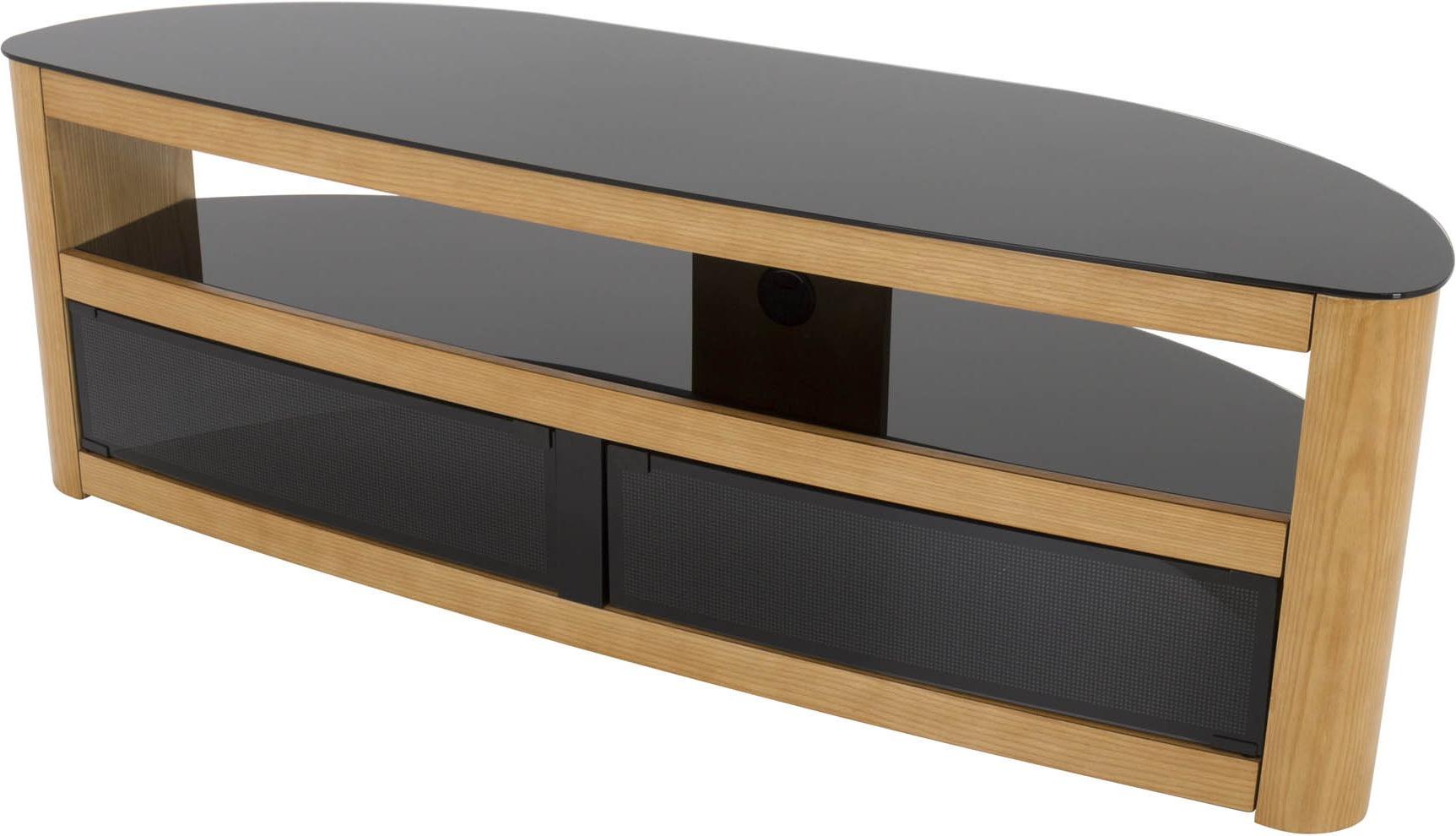 Favorite Oak Tv Stands Inside Avf Fs1500Buro Tv Stands (View 3 of 20)