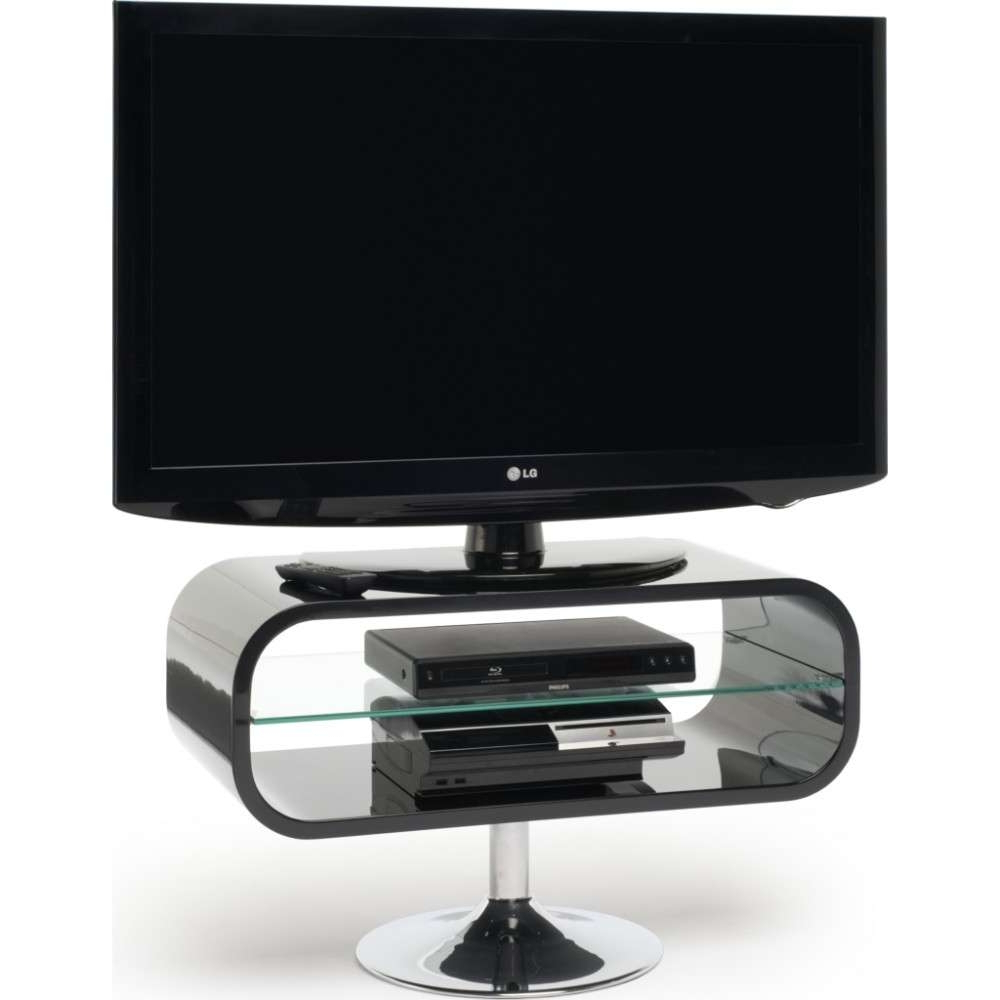 Favorite Ovid White Tv Stands Regarding Ovid Tv Stands Black (View 13 of 20)
