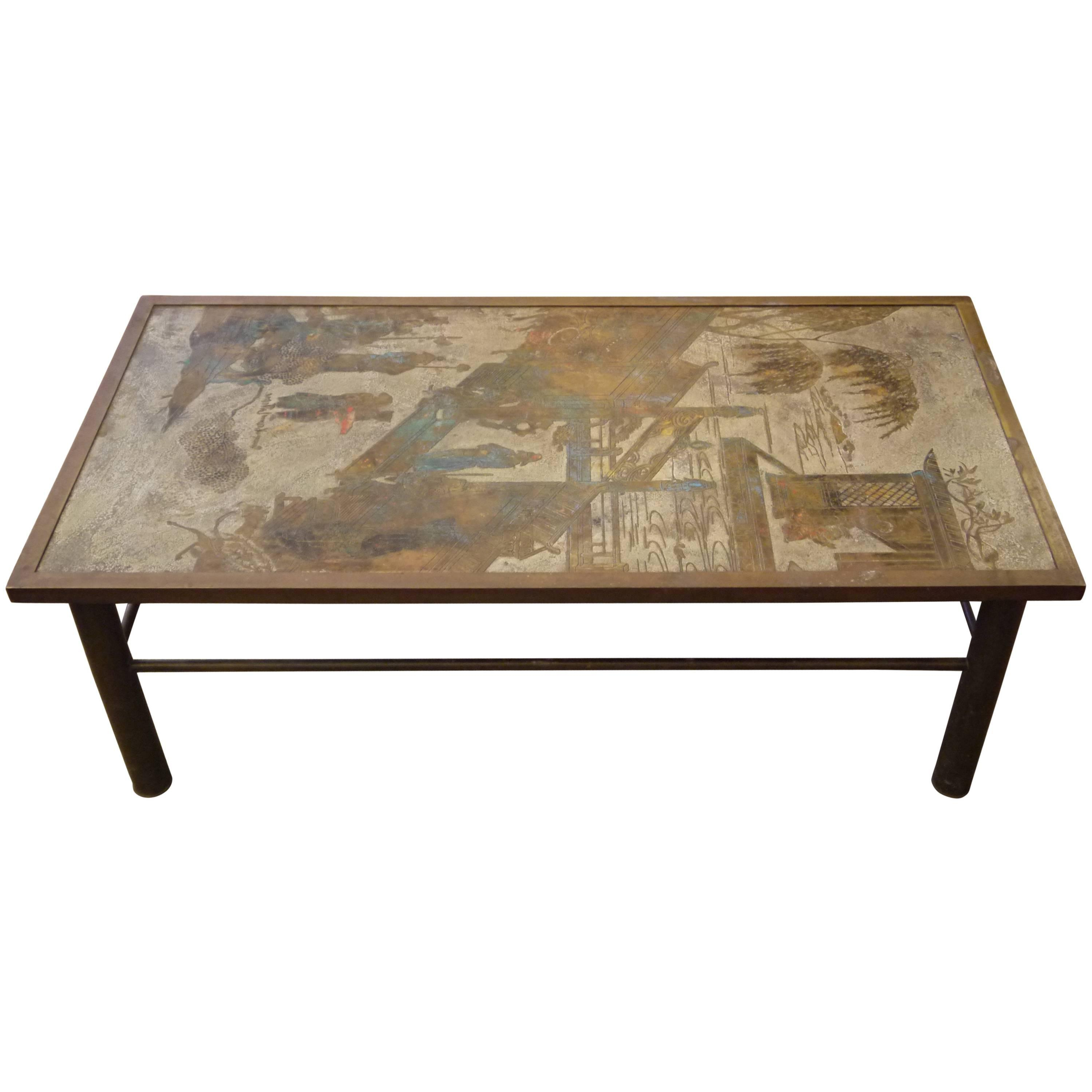 Favorite Philip And Kelvin Laverne Furniture – 144 For Sale At 1Stdibs Within Phillip Brass Console Tables (View 5 of 20)
