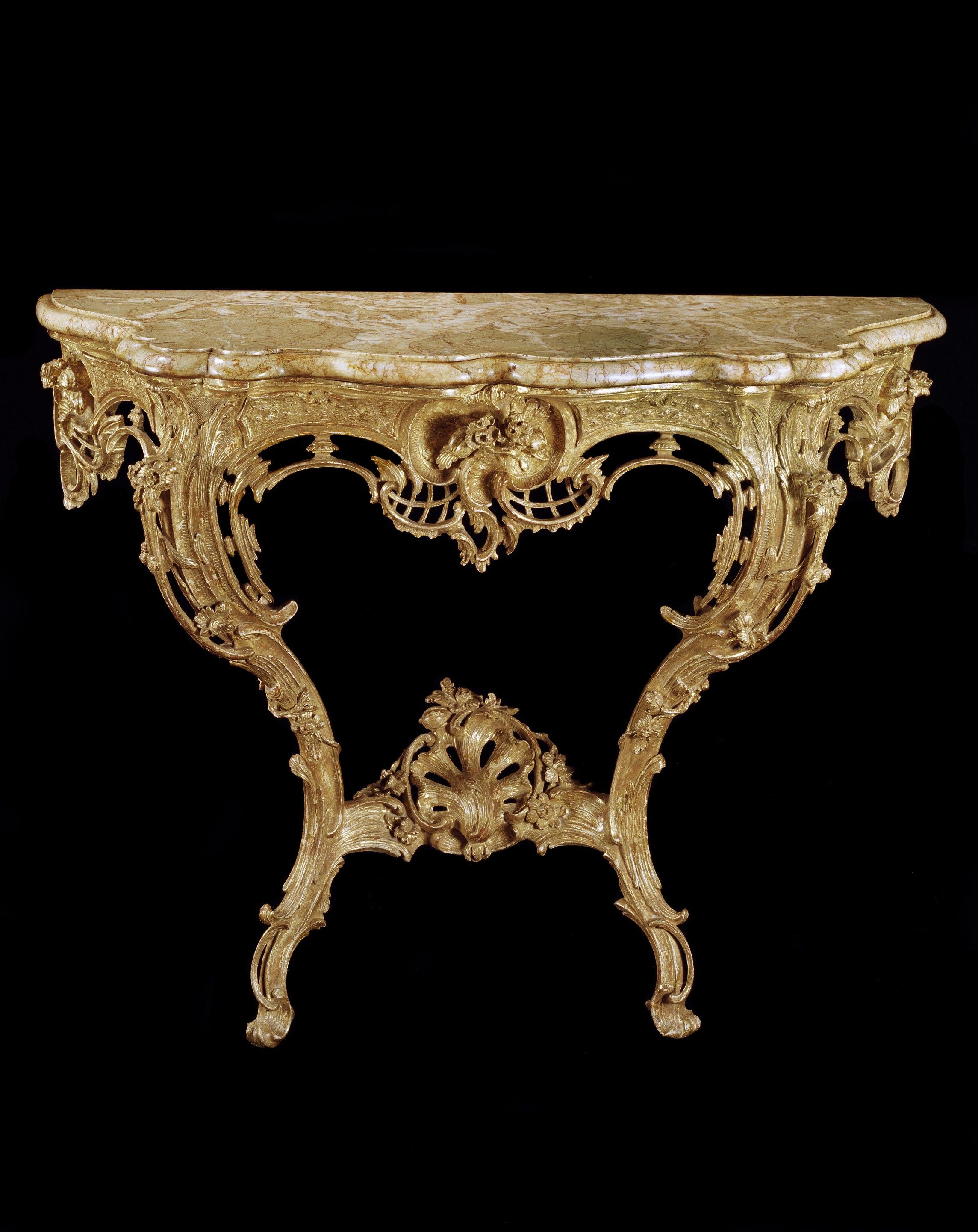 Favorite Phillip Brass Console Tables For A George Iii Giltwood Console Table (4401131) (C. 1765 England) From (Gallery 20 of 20)