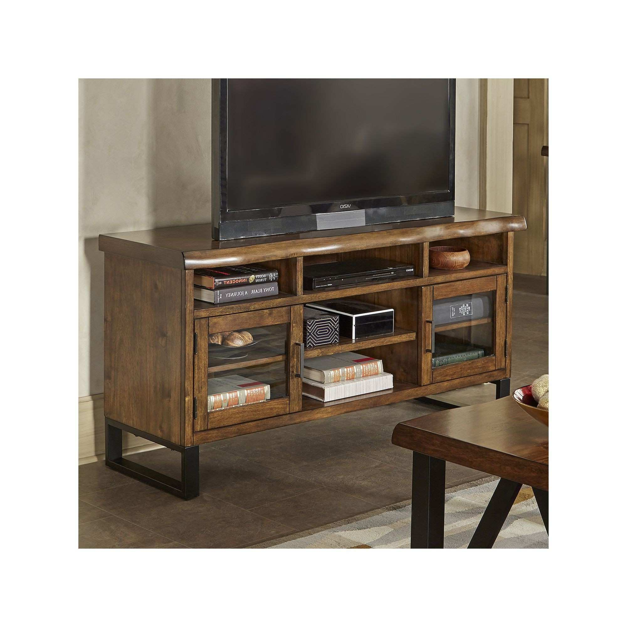 Favorite Pine Wood Tv Stands Within Home Design & Gardening: Exquisite Rustic Pine Tv Stand As Cheap (View 12 of 20)