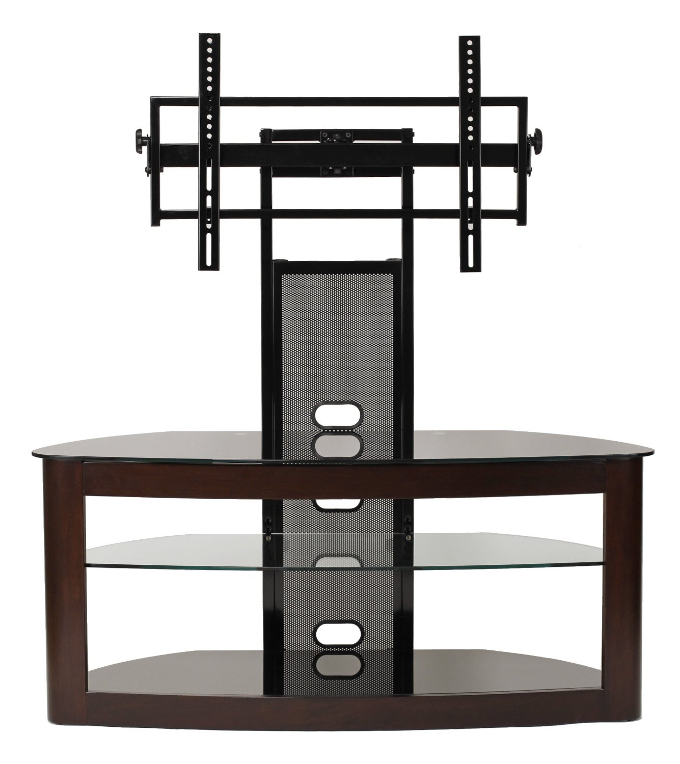Favorite Plasma Tv Stands With Transdeco Tv Stand With Universal Mounting System For 35 To 65 Inch (View 6 of 20)