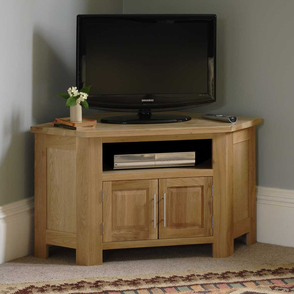 Favorite Real Wood Tv Stands For Flat Screens Oak Sale Solid Corner Stand 55 For Corner Oak Tv Stands For Flat Screen (View 13 of 20)