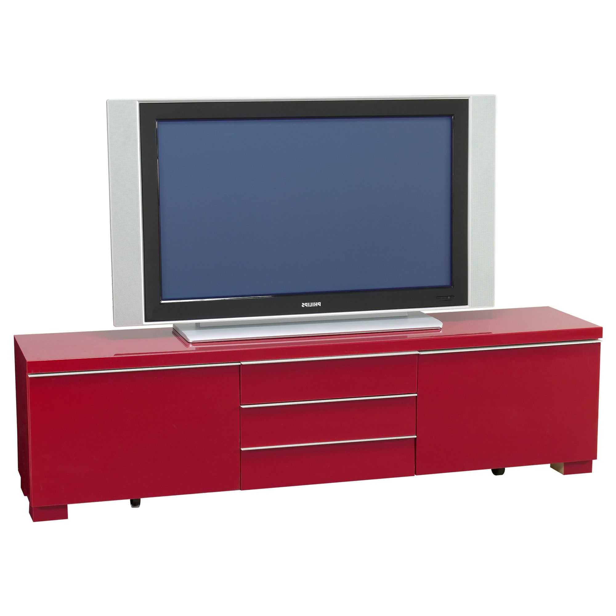 Favorite Red Tv Units In Bestå Burs Tv Unit – High Gloss Red – Ikea I Think This Could Make A (View 12 of 20)