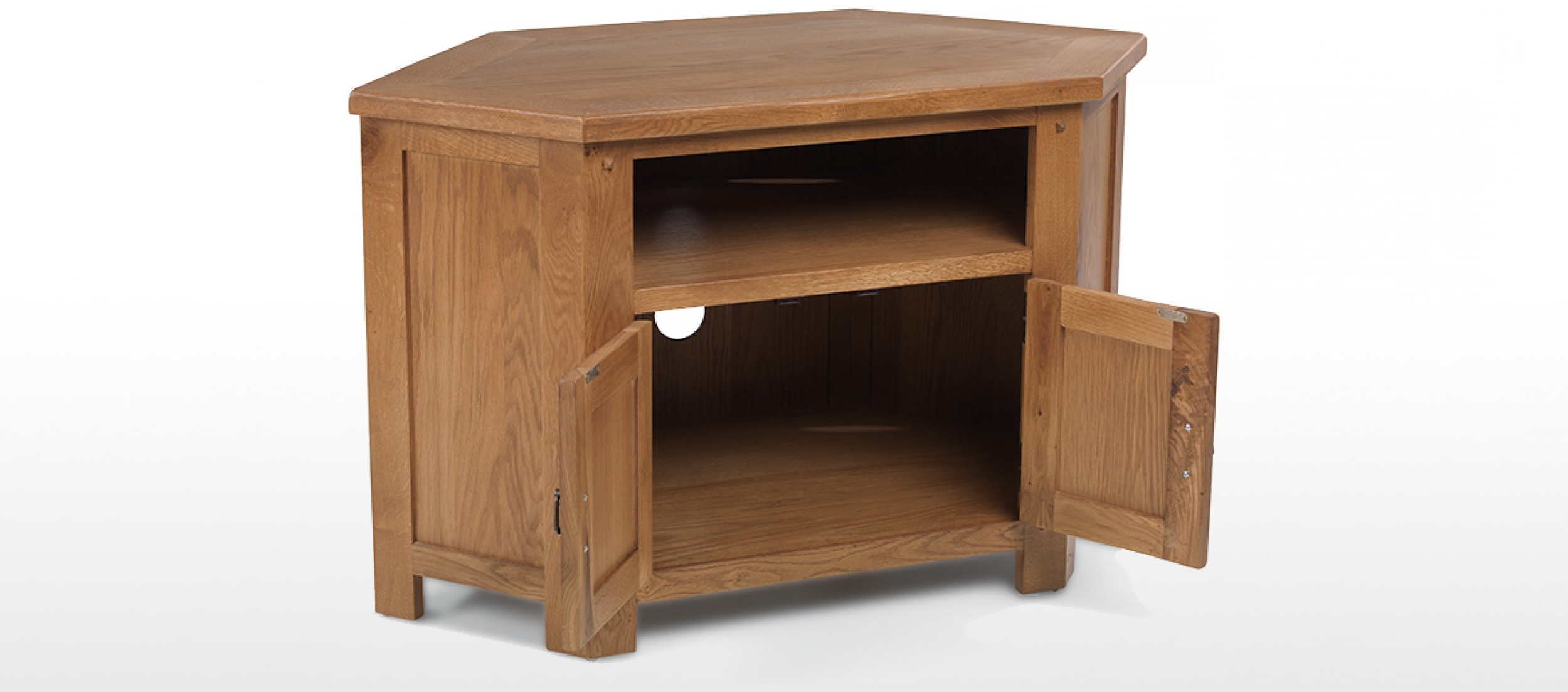 Favorite Rustic Oak Tv Stands Throughout Rustic Oak Corner Tv Cabinet (View 5 of 20)