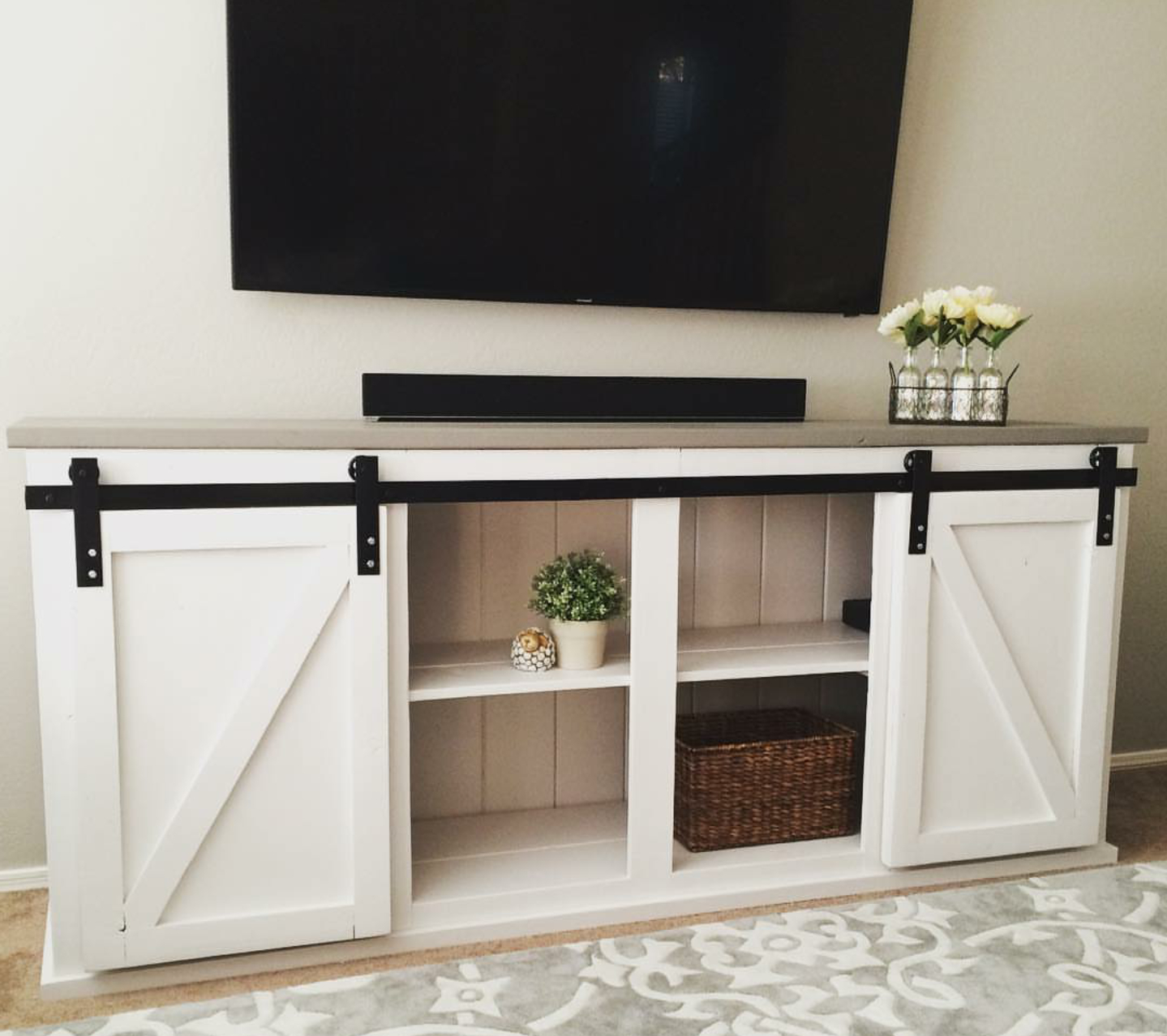 Favorite Sliding Door Console (View 12 of 20)