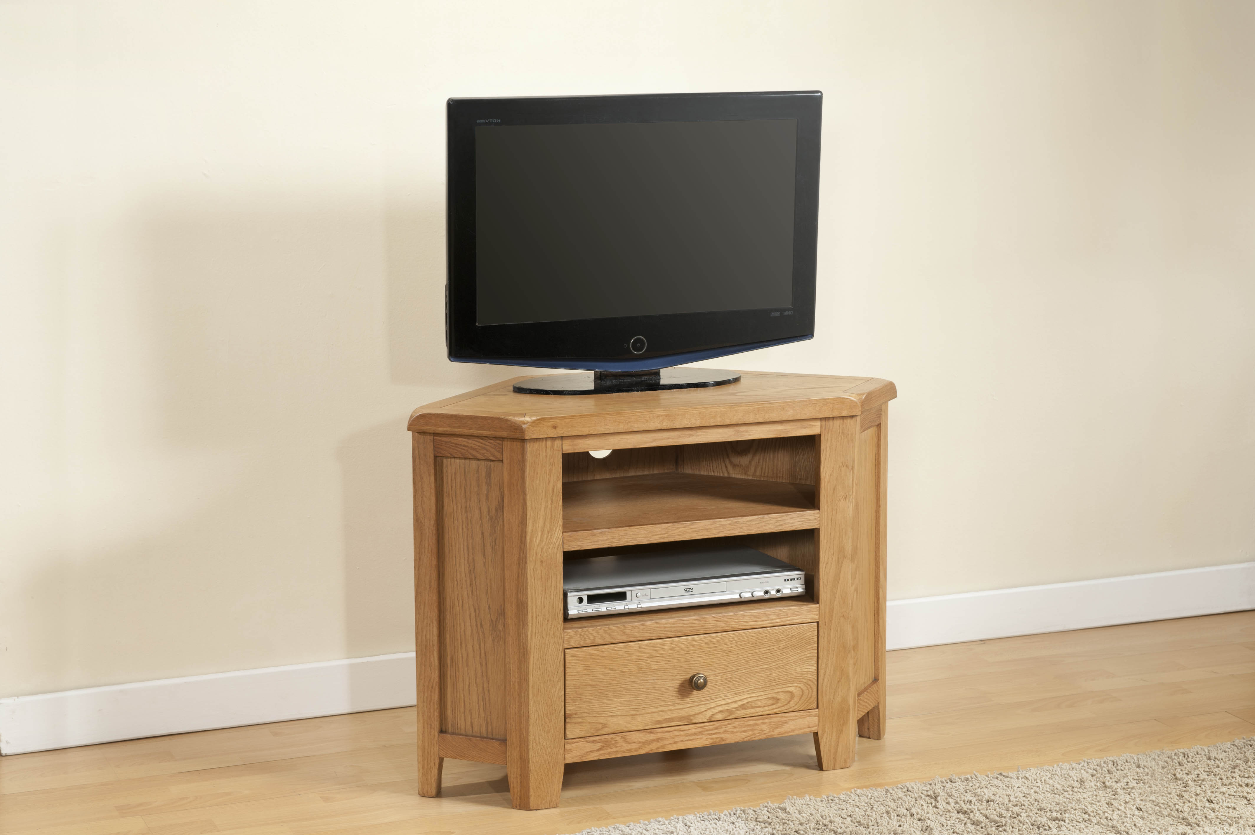 Favorite Solid Oak Corner Tv Cabinets With Corner Tv Unit (25 06) – Papaya Trading (View 8 of 20)