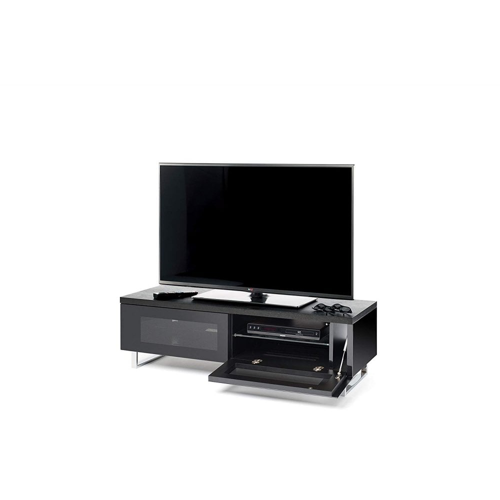 Favorite Techlink Panorama Walnut Tv Stands With Regard To Techlink Pm120b Panorama Stand For 55 Inch Tv, Walnut & Black (View 15 of 20)