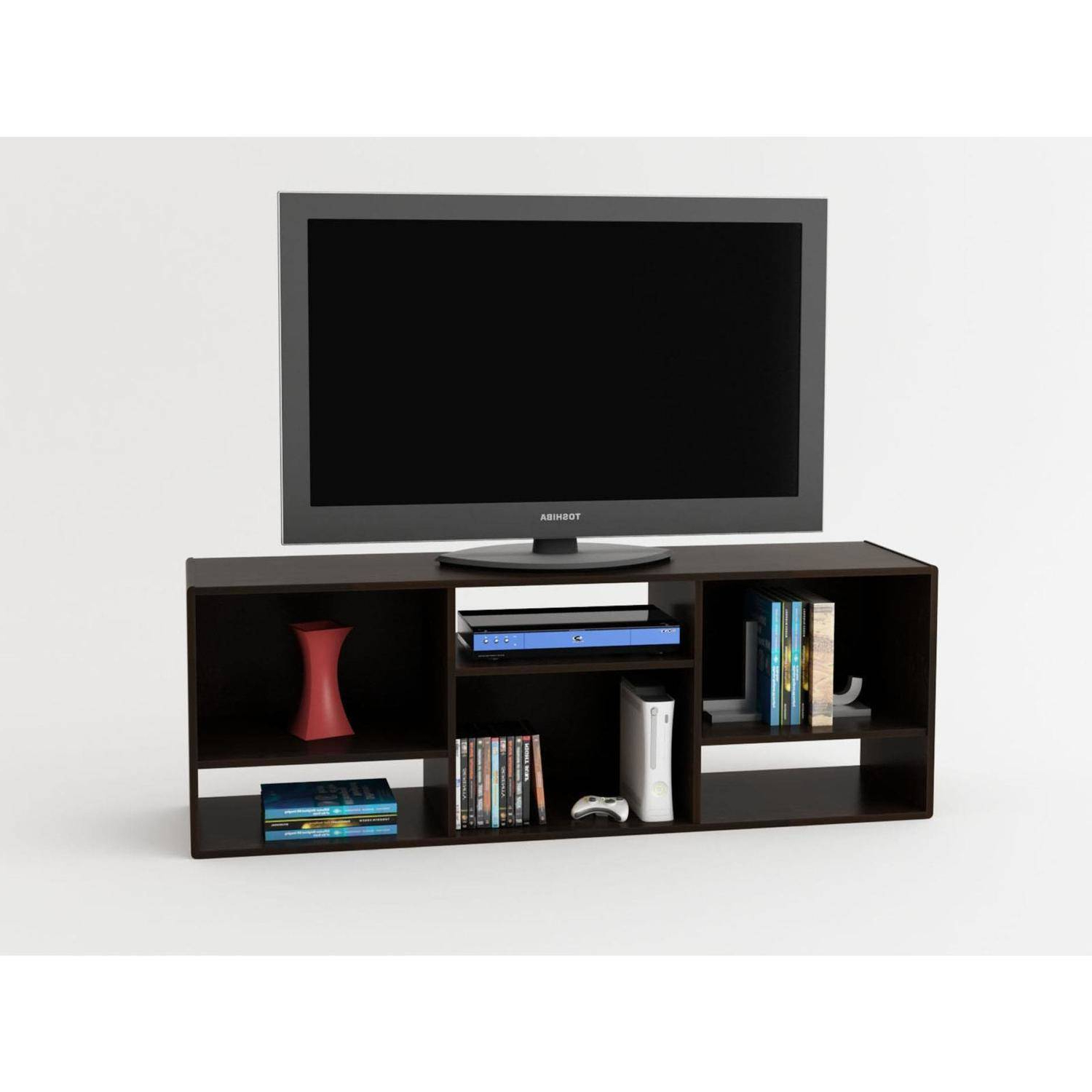 "Favorite Tv Stands With Bookcases Pertaining To Ameriwood Home Nash Bookcase/tv Stand For Tvs Up To 60"", Espresso (Gallery 14 of 20)"