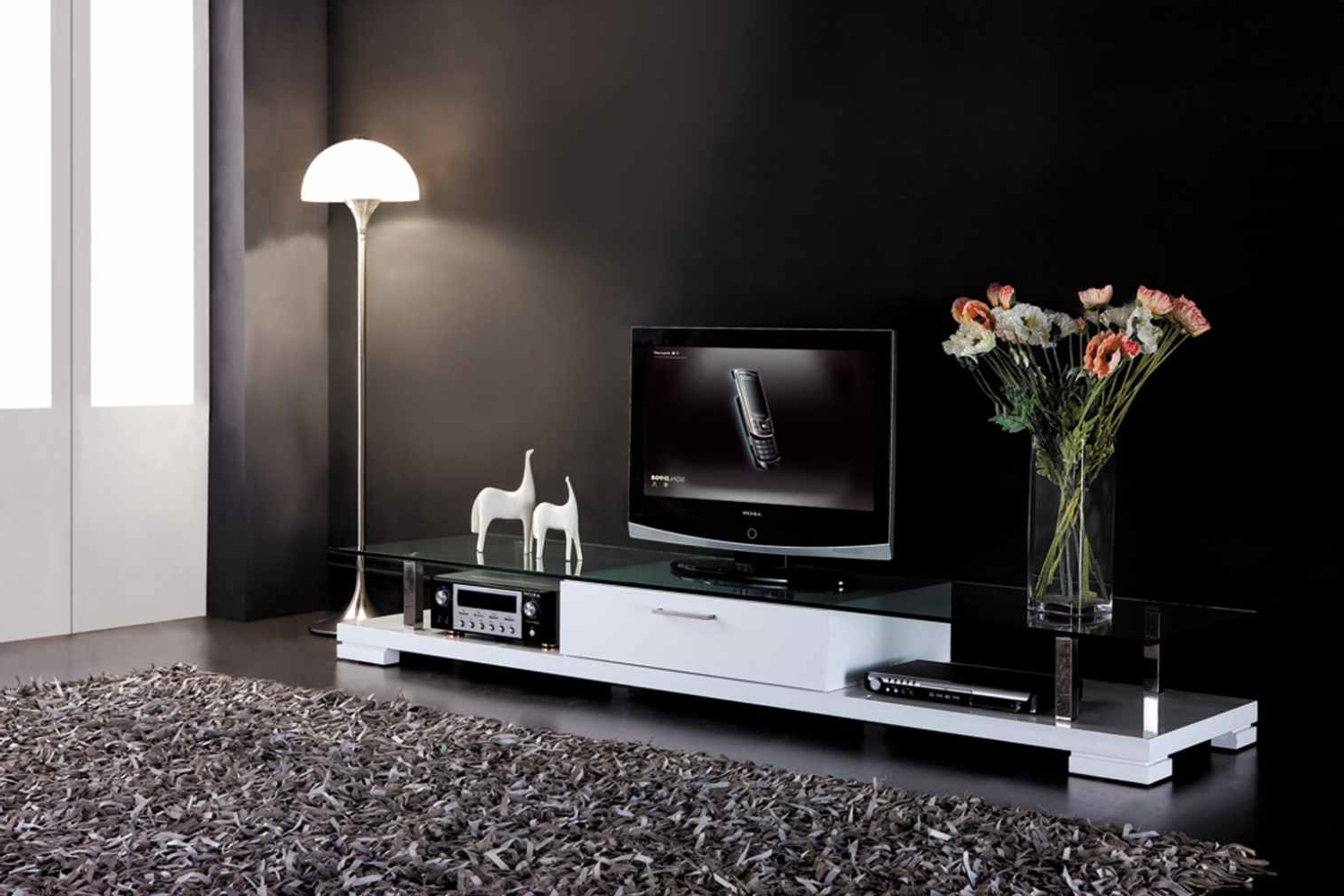 Favorite White Contemporary Tv Stands With Regard To Rio Modern Tv Stands (Gallery 4 of 20)