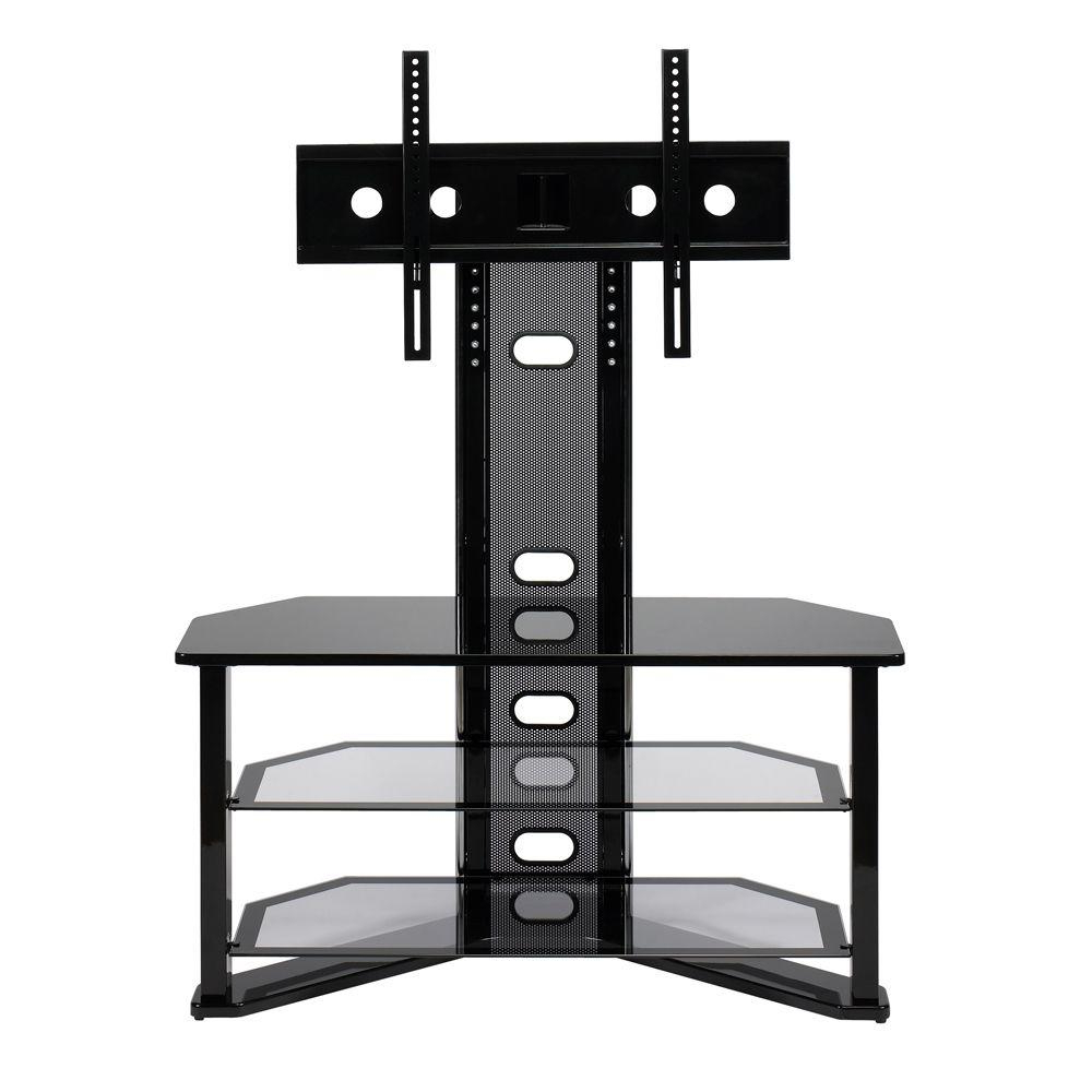 Favorite Z Line Designs Madrid Black Entertainment Center Zl541 44Mu – The Throughout Tv Stands With Mount (Gallery 12 of 20)