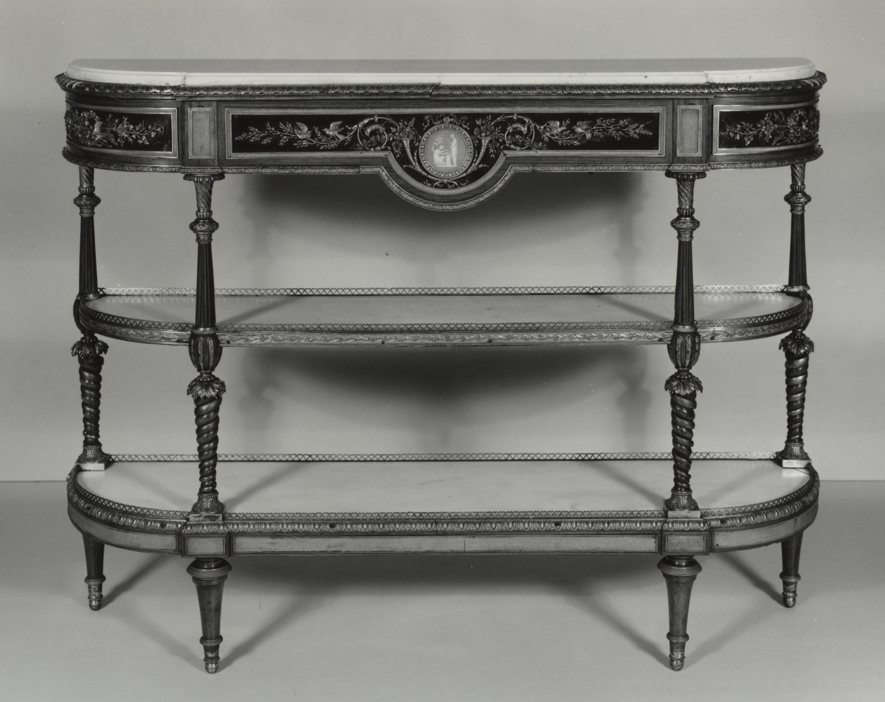 File:josiah Wedgwood – Console – Walters 6518 – Wikimedia Commons In Well Liked Walters Media Console Tables (Gallery 5 of 20)