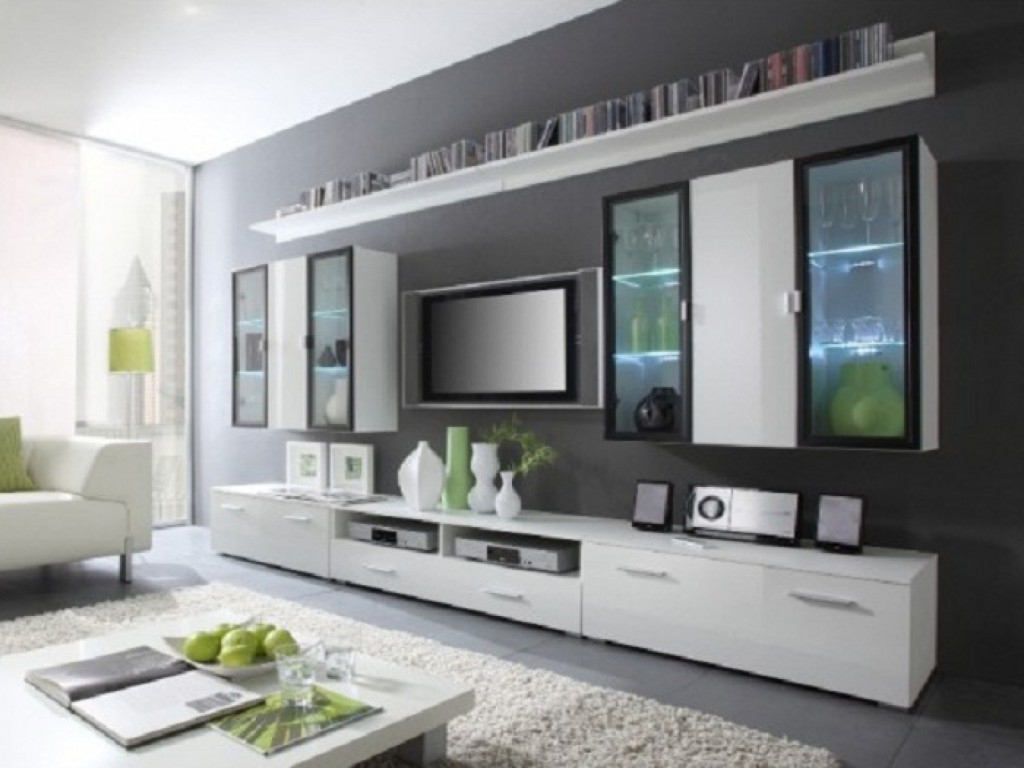 Flat Screen Tv Wall Cabinets Offering Space Saving Furniture Ideas For Popular Tv Wall Cabinets (Gallery 12 of 20)