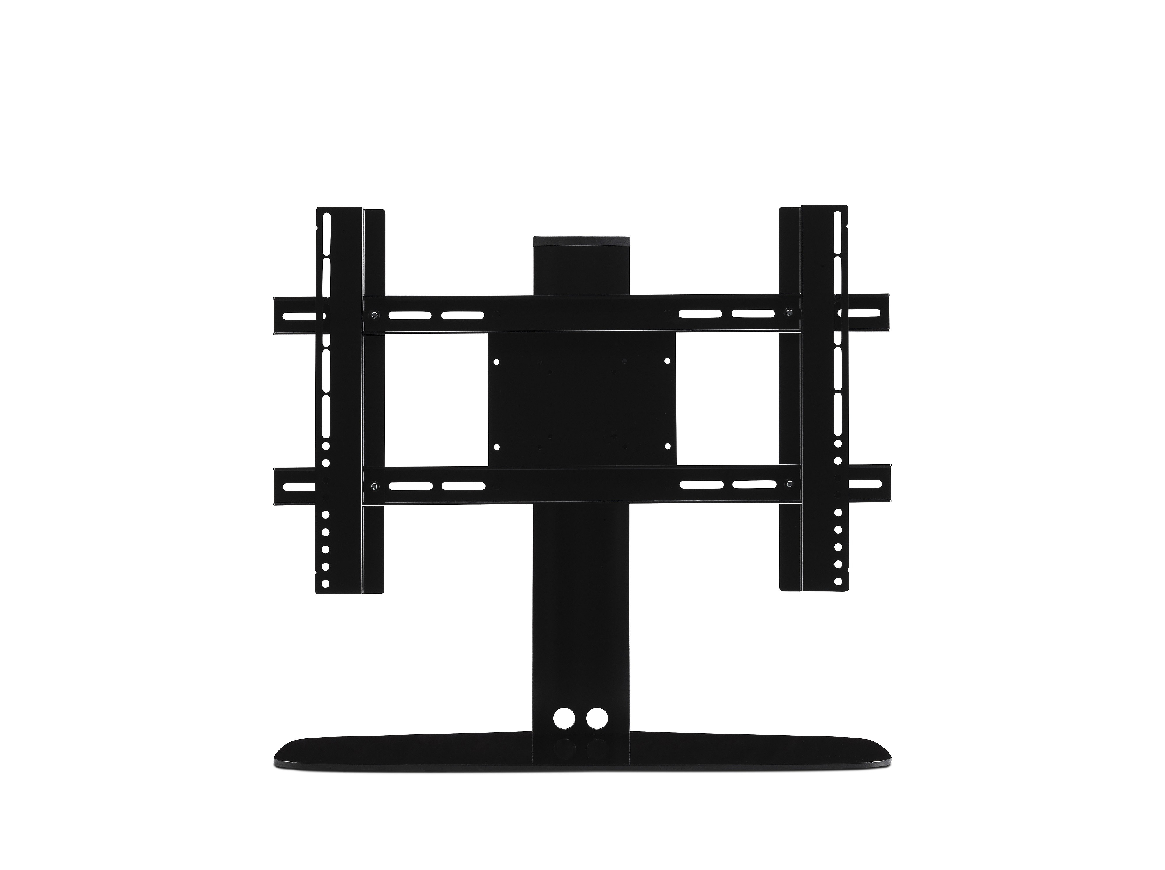 Flexson Adjustable Tv Stand For Sonos Playbase – Black – Tv With Regard To Recent Sonos Tv Stands (View 17 of 20)