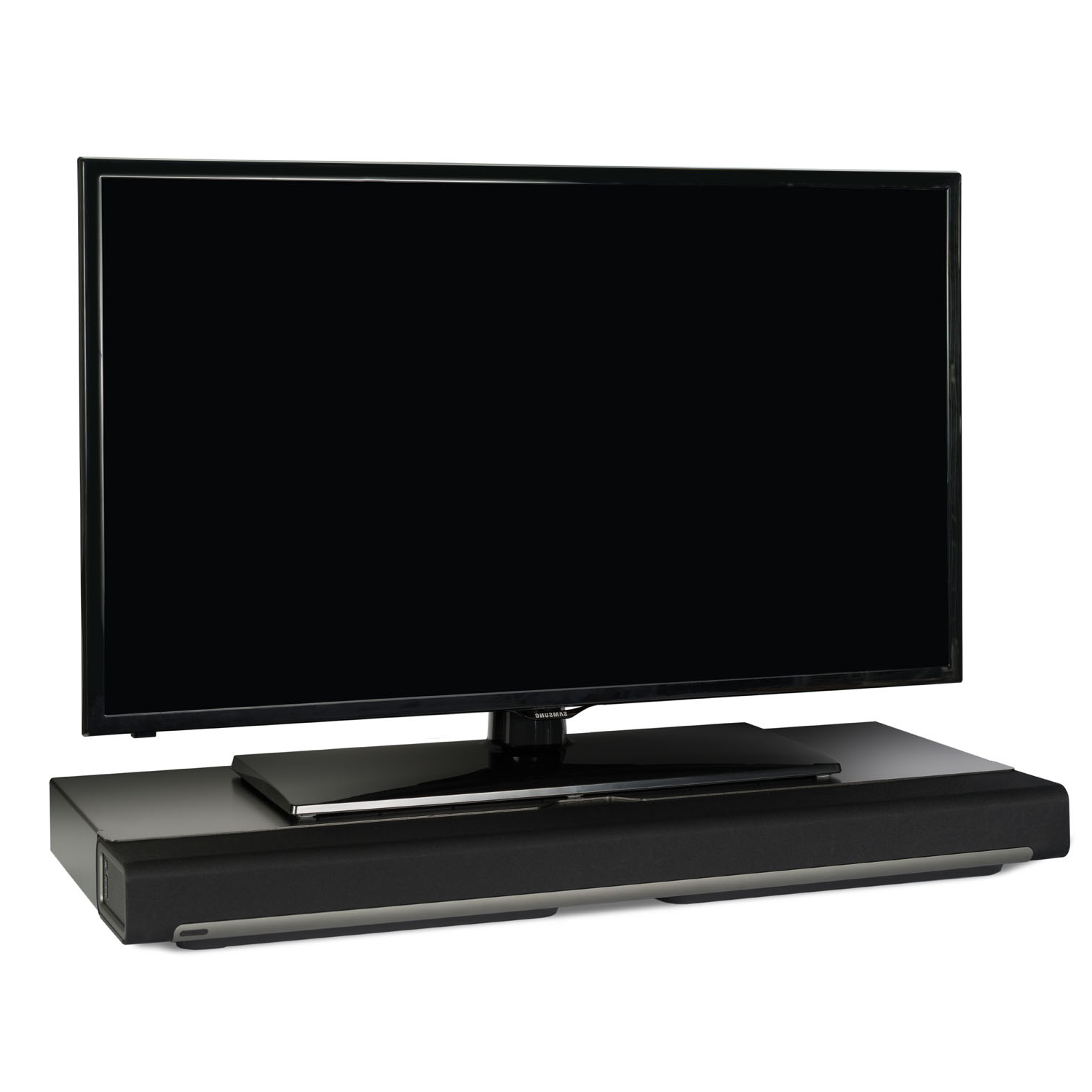 Flexson Tv Stand For Sonos Playbar – Black (Single) With Current Single Tv Stands (Gallery 9 of 20)