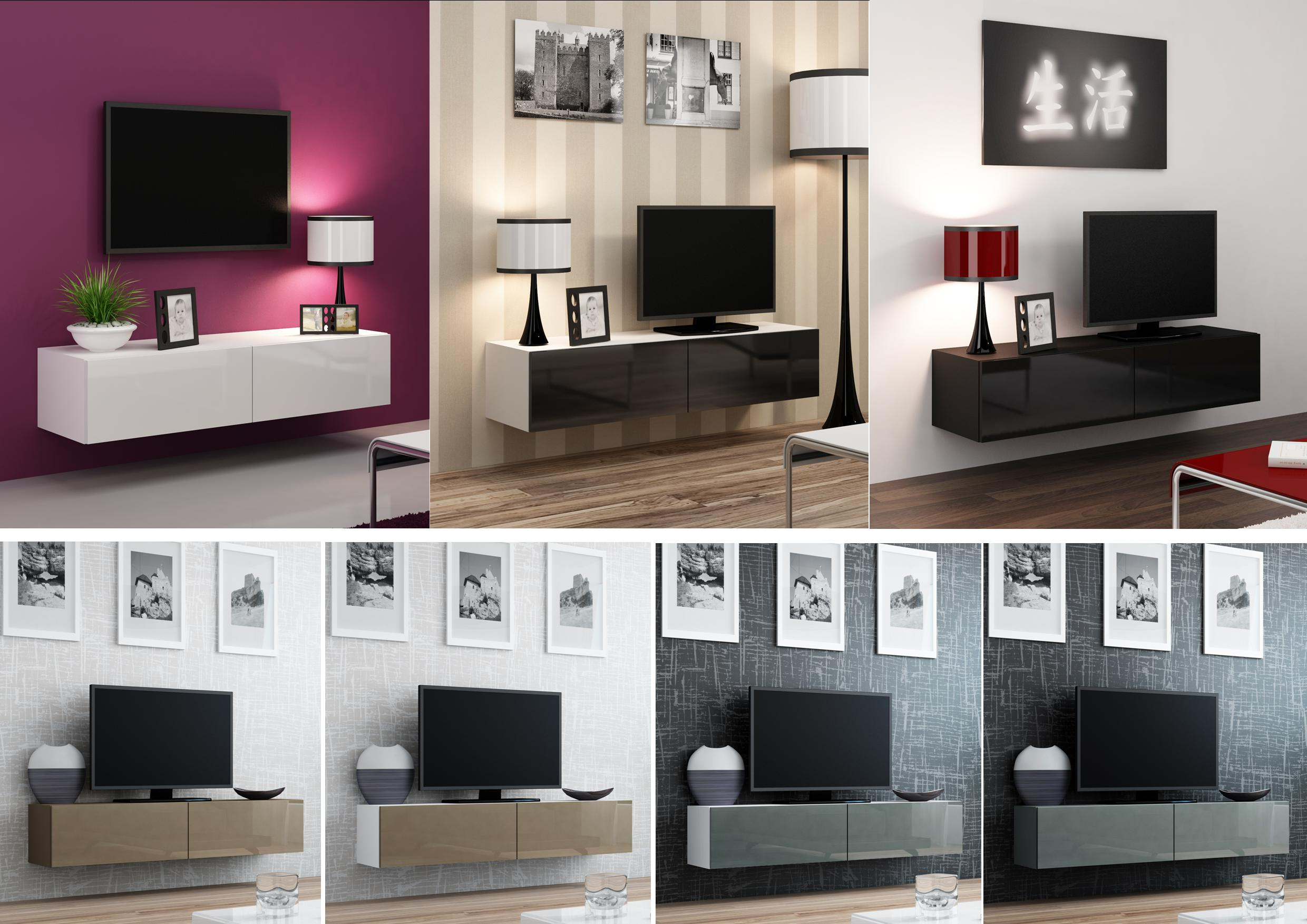 Floating Wall Mounted Tv With Regard To Most Up To Date On The Wall Tv Units (View 4 of 20)