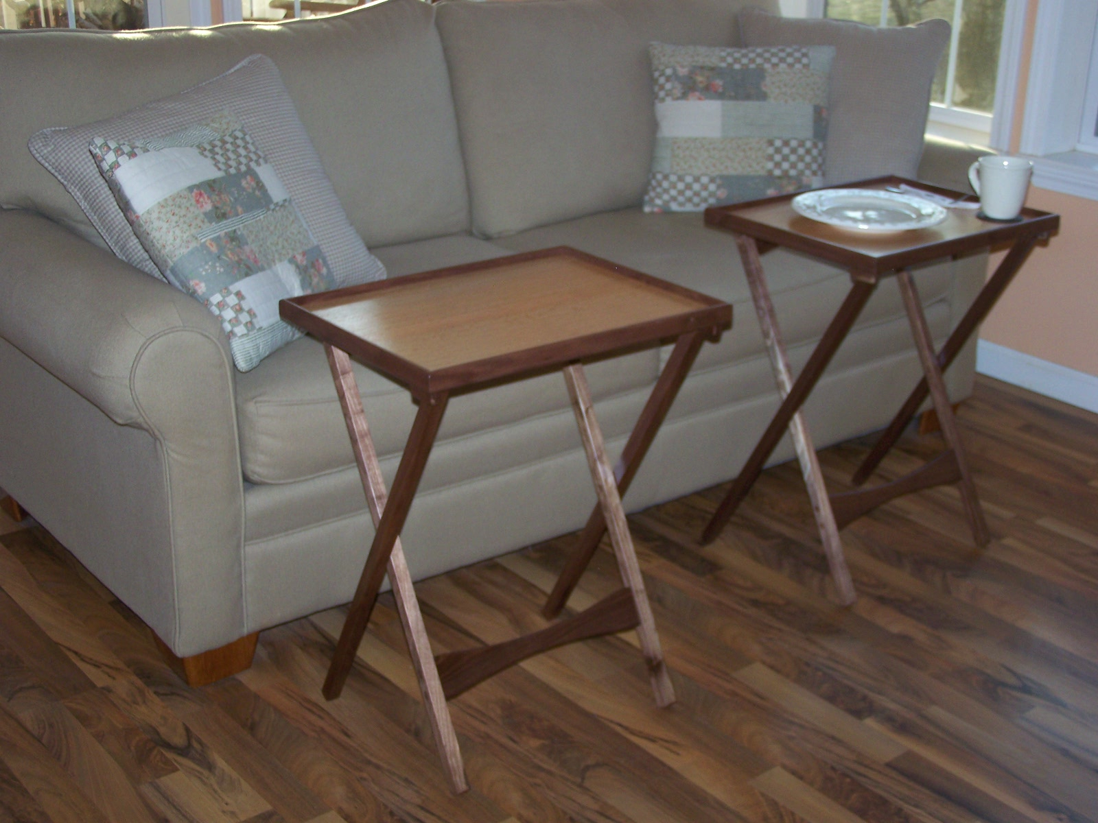 Folding Wooden Tv Tray Tables Throughout Widely Used Tv Table Trays Ikea — Bmpath Furniture (View 9 of 20)