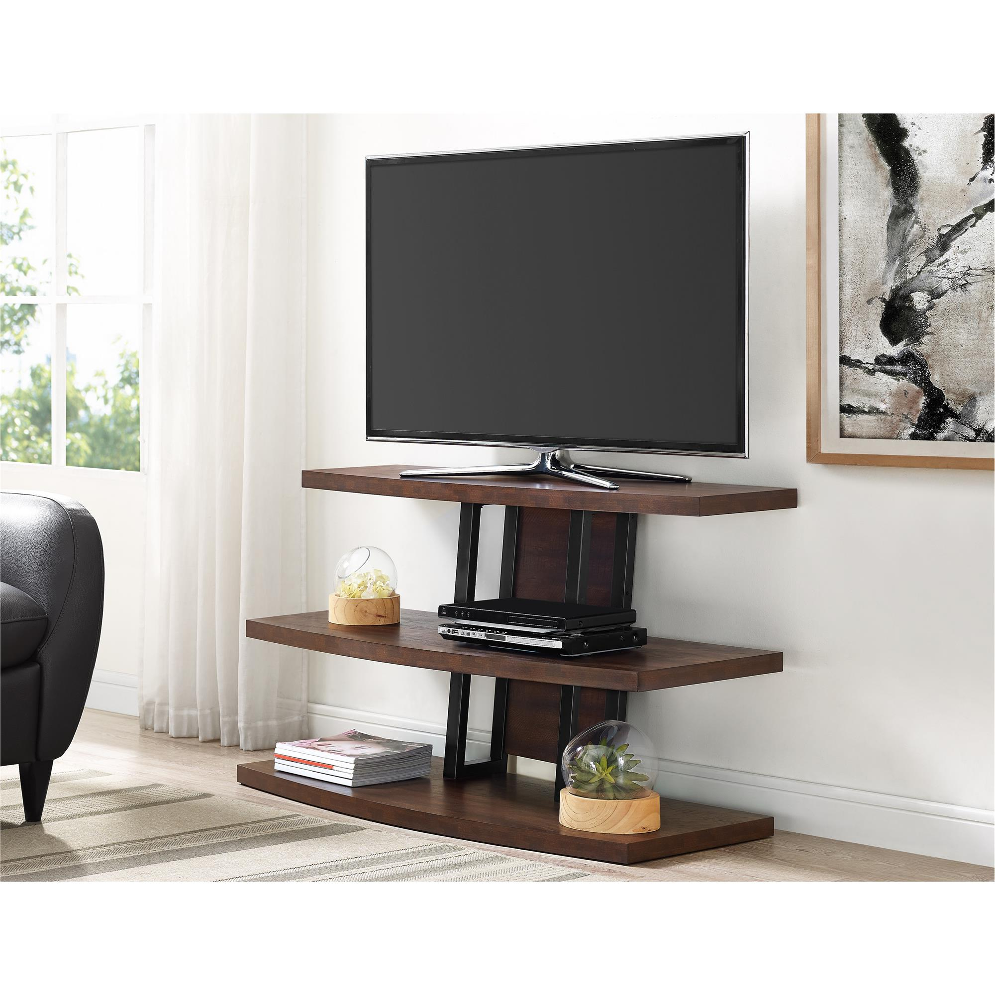 "Forma 65 Inch Tv Stands Regarding 2017 Ameriwood Home Castling Tv Stand For Tvs Up To 55"", Espresso (View 8 of 20)"