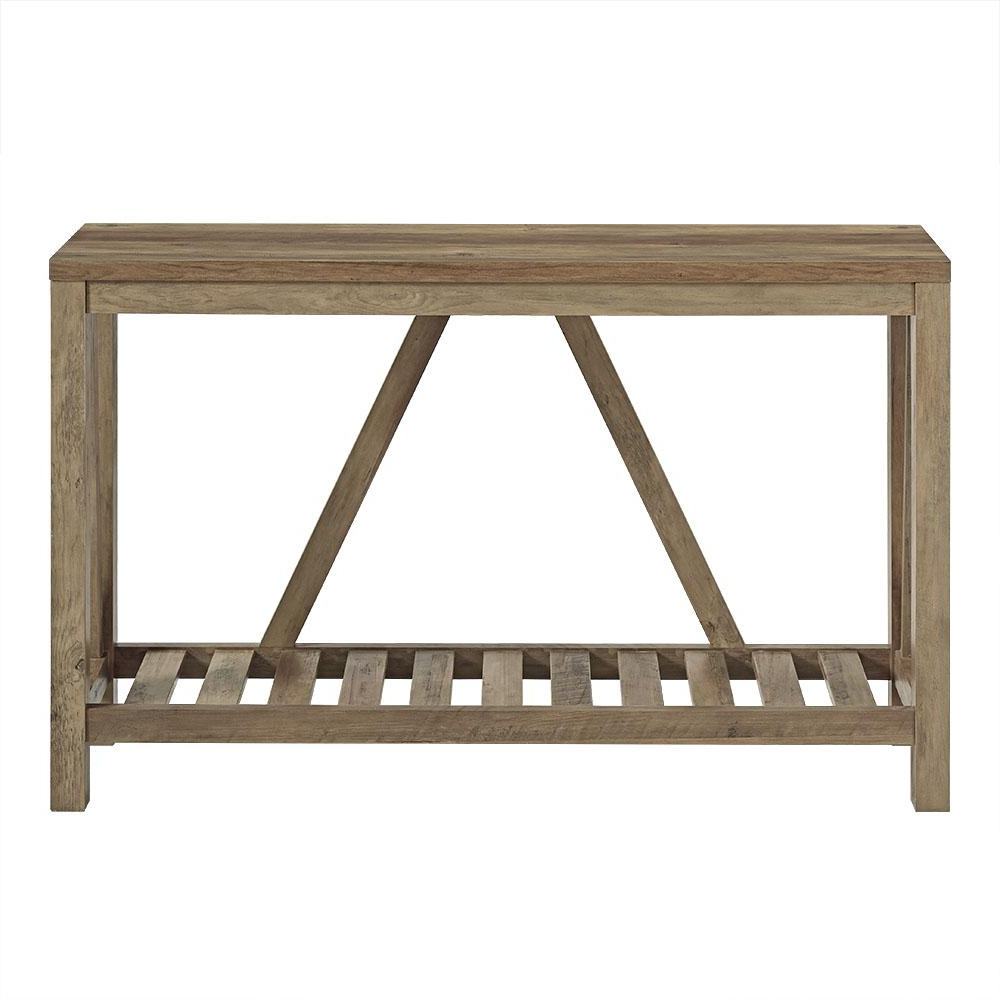 Frame Console Tables With Regard To Most Recent Walker Edison Furniture Company 52 In (View 11 of 20)