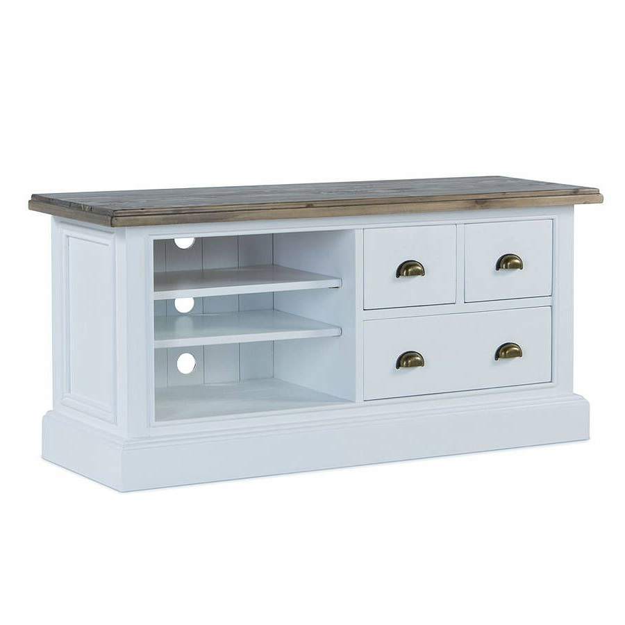 French Country Three Drawer Tv Unitthe Orchard Furniture Within Most Current French Country Tv Stands (View 4 of 20)