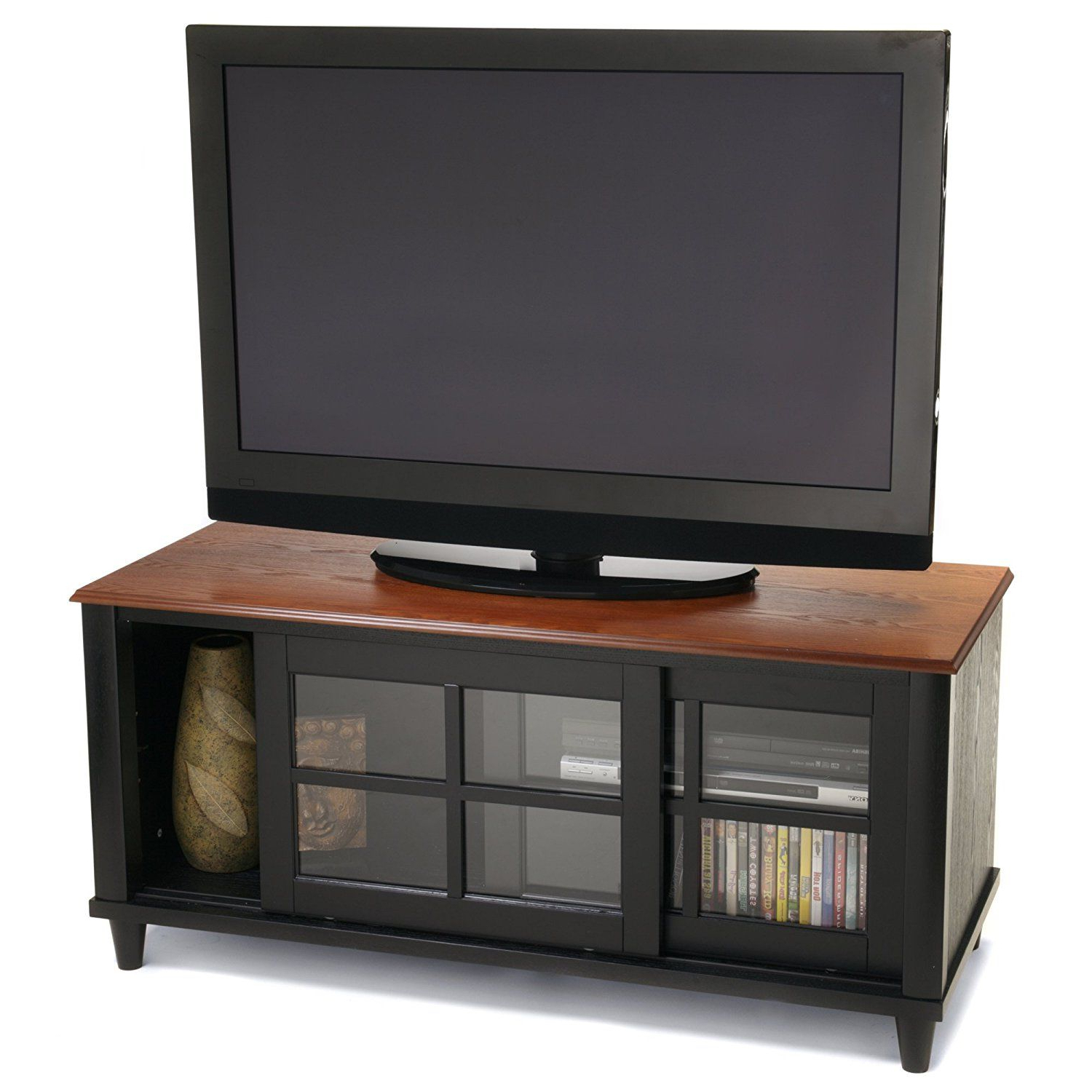 French Country Tv Stands Inside Well Known Amazon: Convenience Concepts Designs2Go French Country Tv Stand (View 6 of 20)