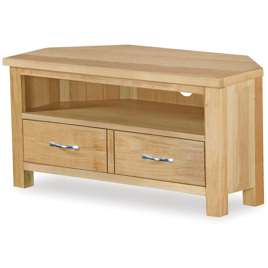 Featured Photo of Oak Corner Tv Stands