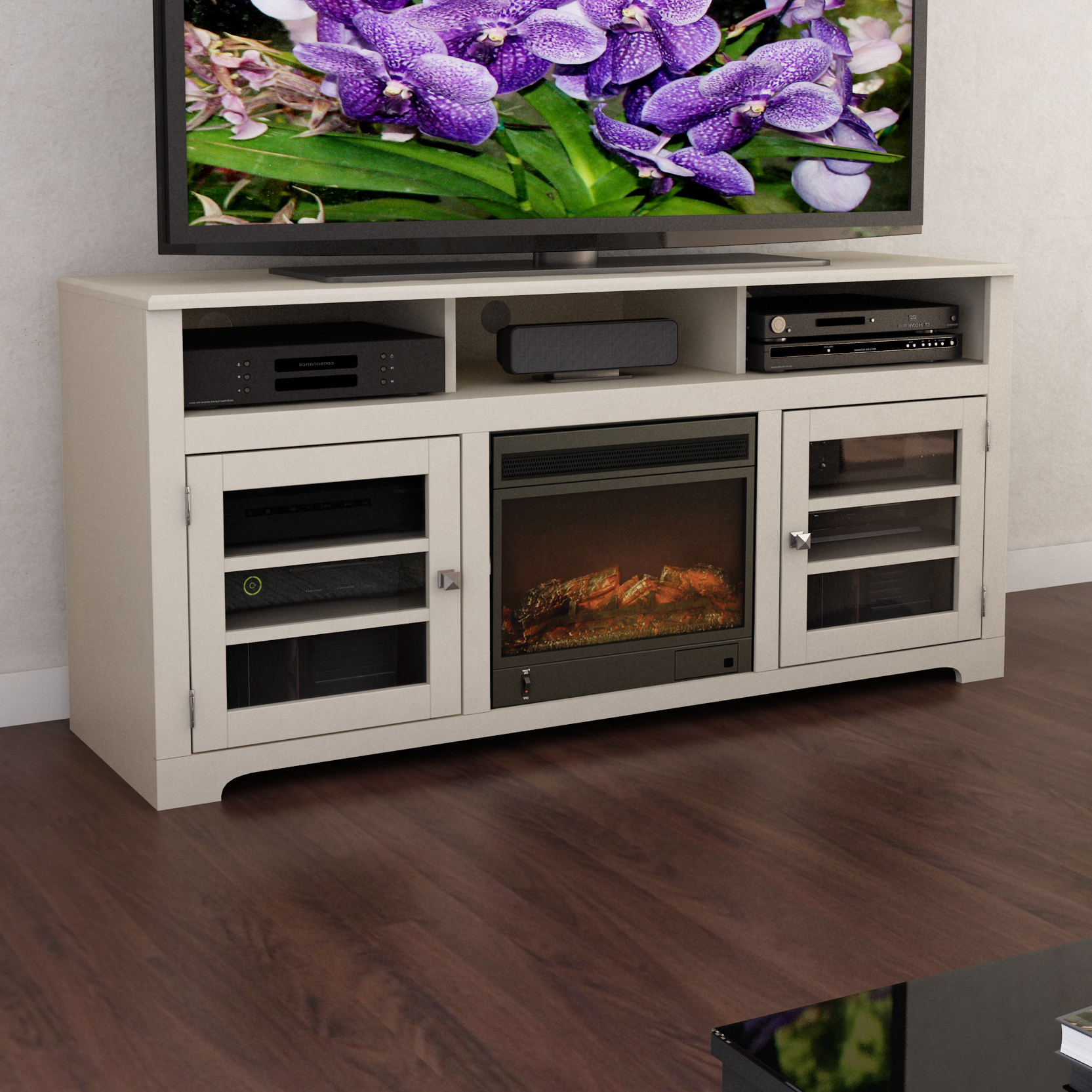 Furniture: Corner Fireplace Tv Stand Big Lots Corner White Fireplace Within Most Current Big Lots Tv Stands (View 8 of 20)