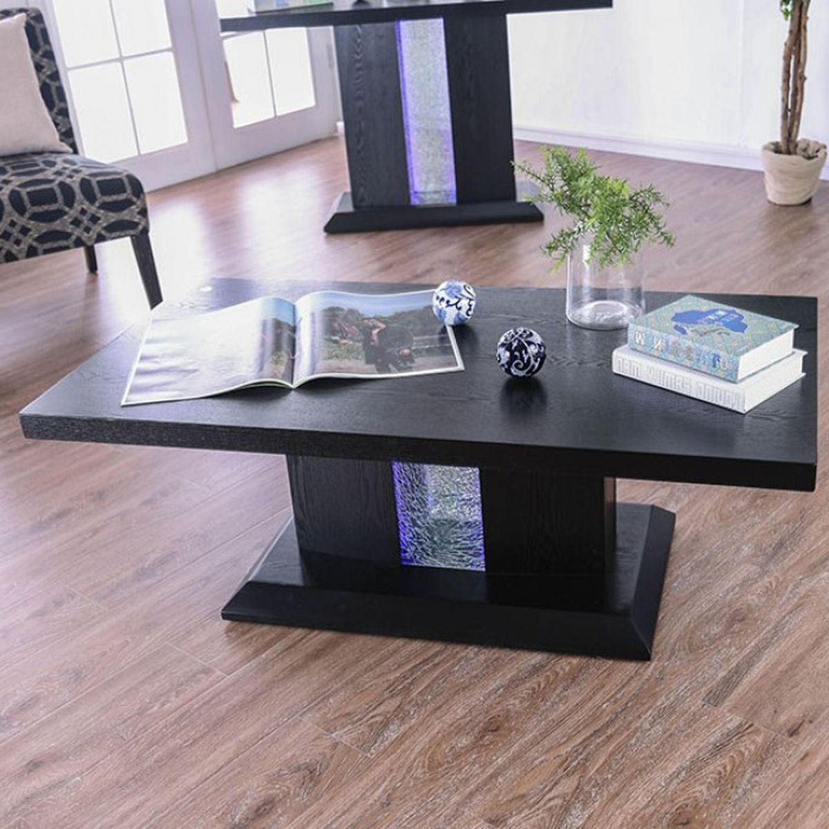 Furniture Of America Tobias Coffee Table In Black (View 17 of 20)