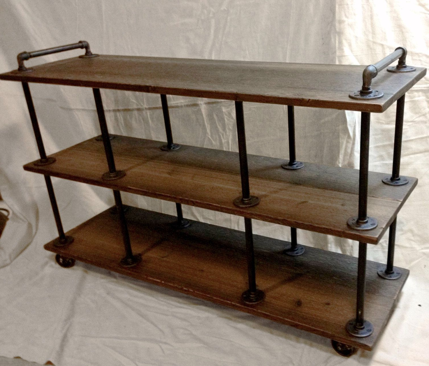 Featured Photo of Metal And Wood Tv Stands