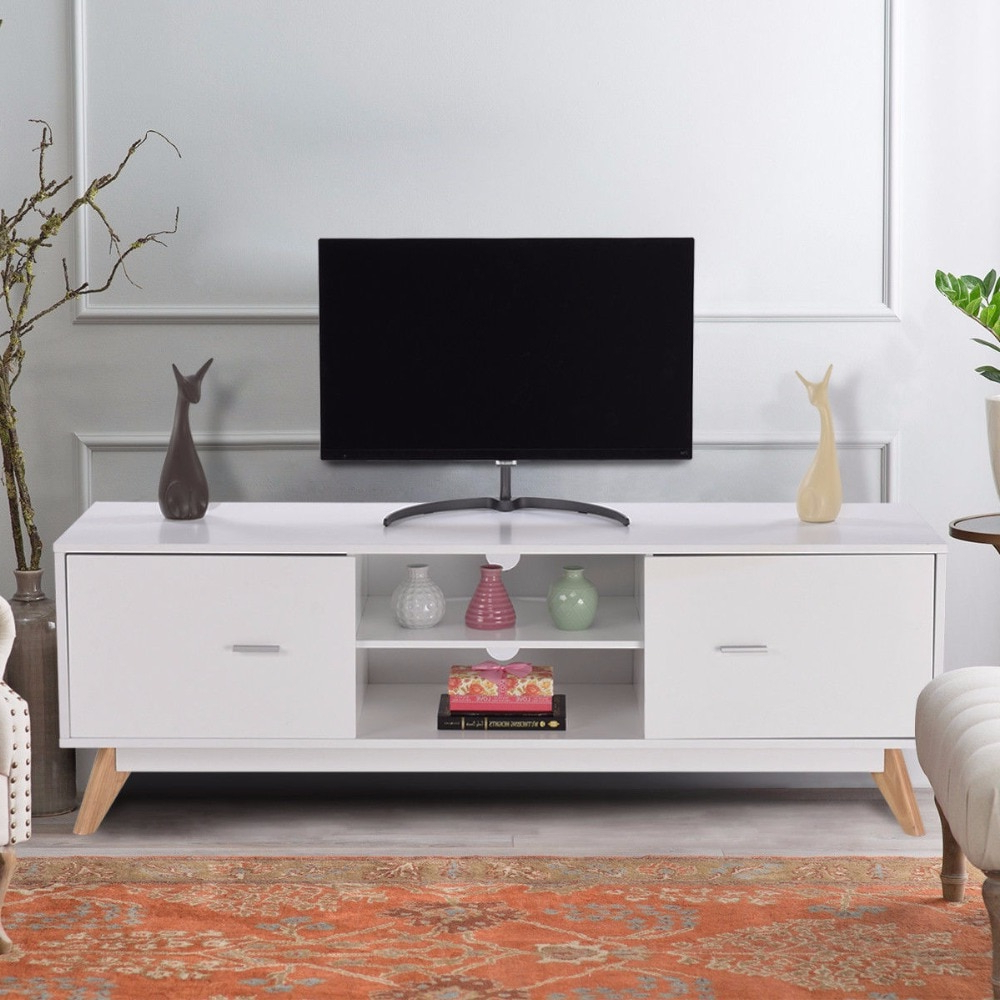 Giantex Modern Tv Stand Entertainment Center Console Cabinet Stand 2 In 2017 Modern Tv Entertainment Centers (View 8 of 20)