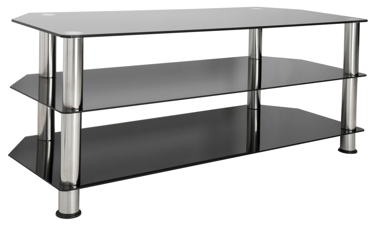 Glass Tv Cabinets In Most Recently Released Avf Sdc1140 Tv Stands (Gallery 2 of 20)