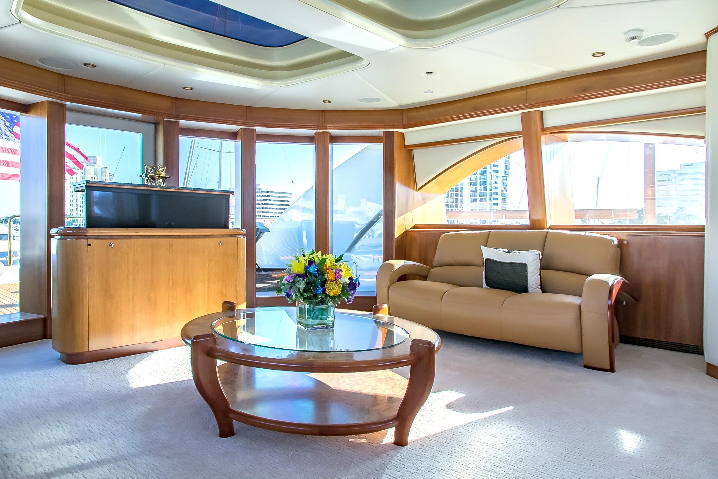 Golden Touch 147 Sensation Yachts 2006 Miami, Florida With Newest Mikelson Media Console Tables (Gallery 20 of 20)