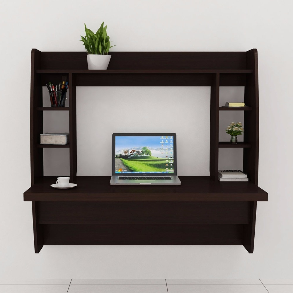 Goplus Living Room Wall Mount Floating Cabinet Modern Computer Desk Pertaining To Fashionable Modern Wall Mount Tv Stands (View 20 of 20)