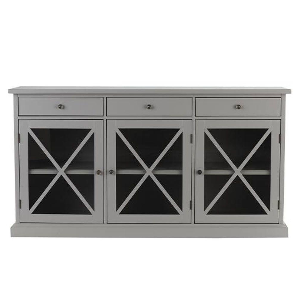 Gray – Sideboards & Buffets – Kitchen & Dining Room Furniture – The Within 2017 Raven Grey Tv Stands (Gallery 8 of 20)