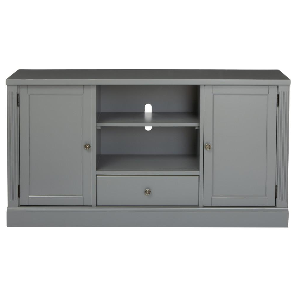 Grey Tv Stands Inside Recent Edinburgh Grey Tv Stand 6335 880 – The Home Depot (View 8 of 20)