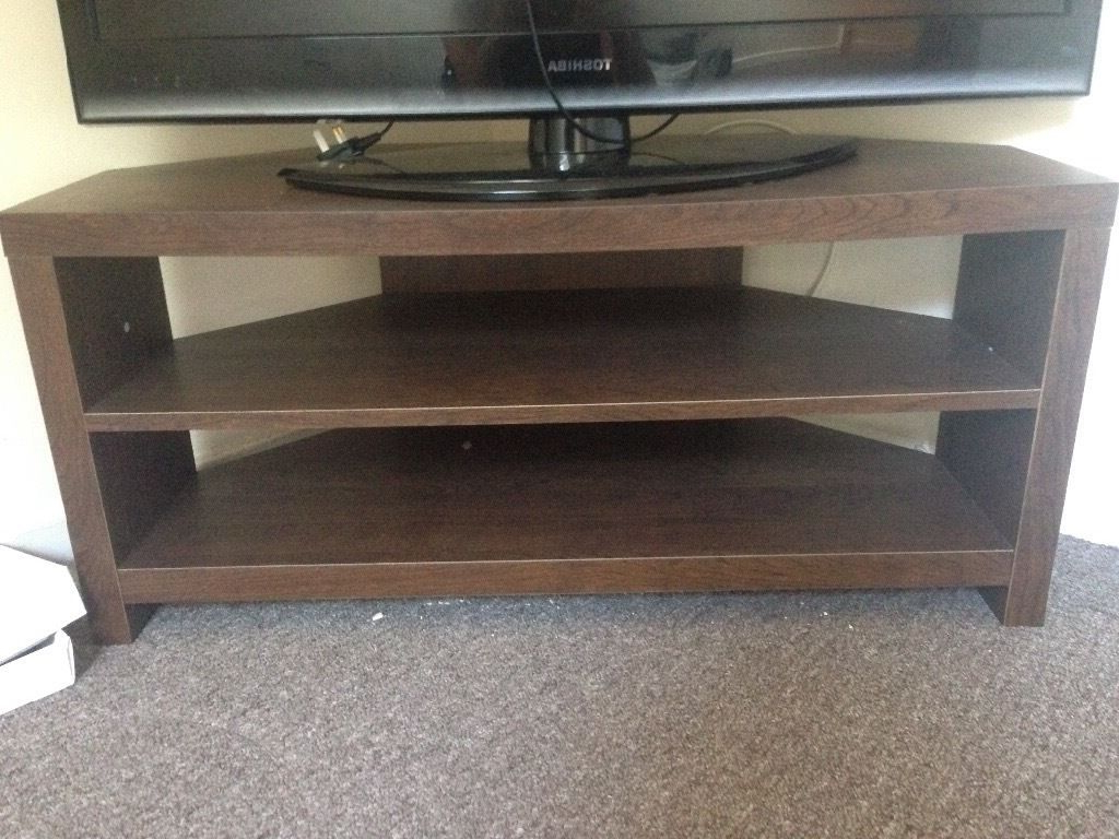 Gumtree Inside Well Known Dark Wood Corner Tv Stands (Gallery 5 of 20)